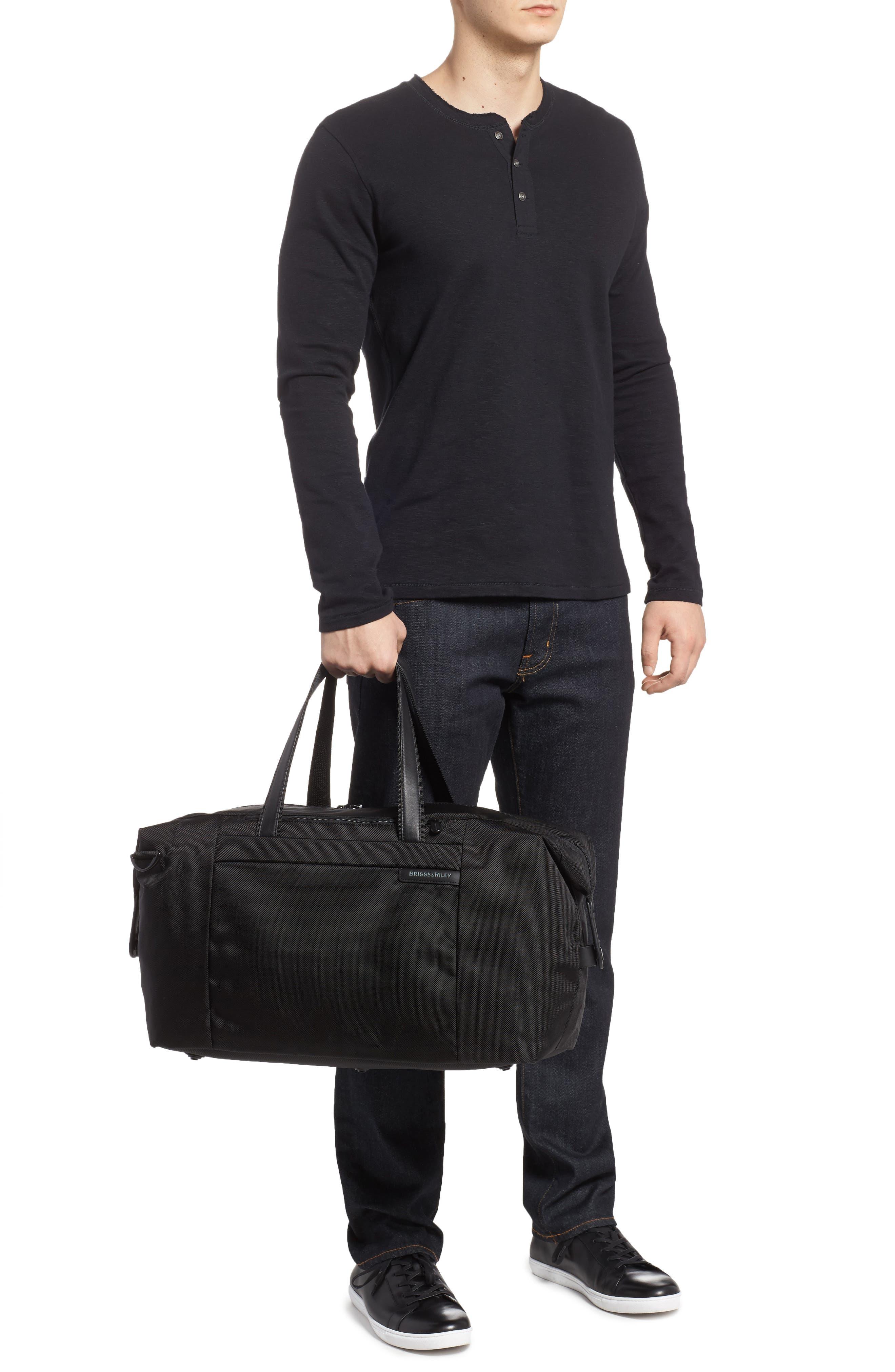 BRIGGS & RILEY,                             'Baseline' Duffel Bag,                             Alternate thumbnail 2, color,                             BLACK