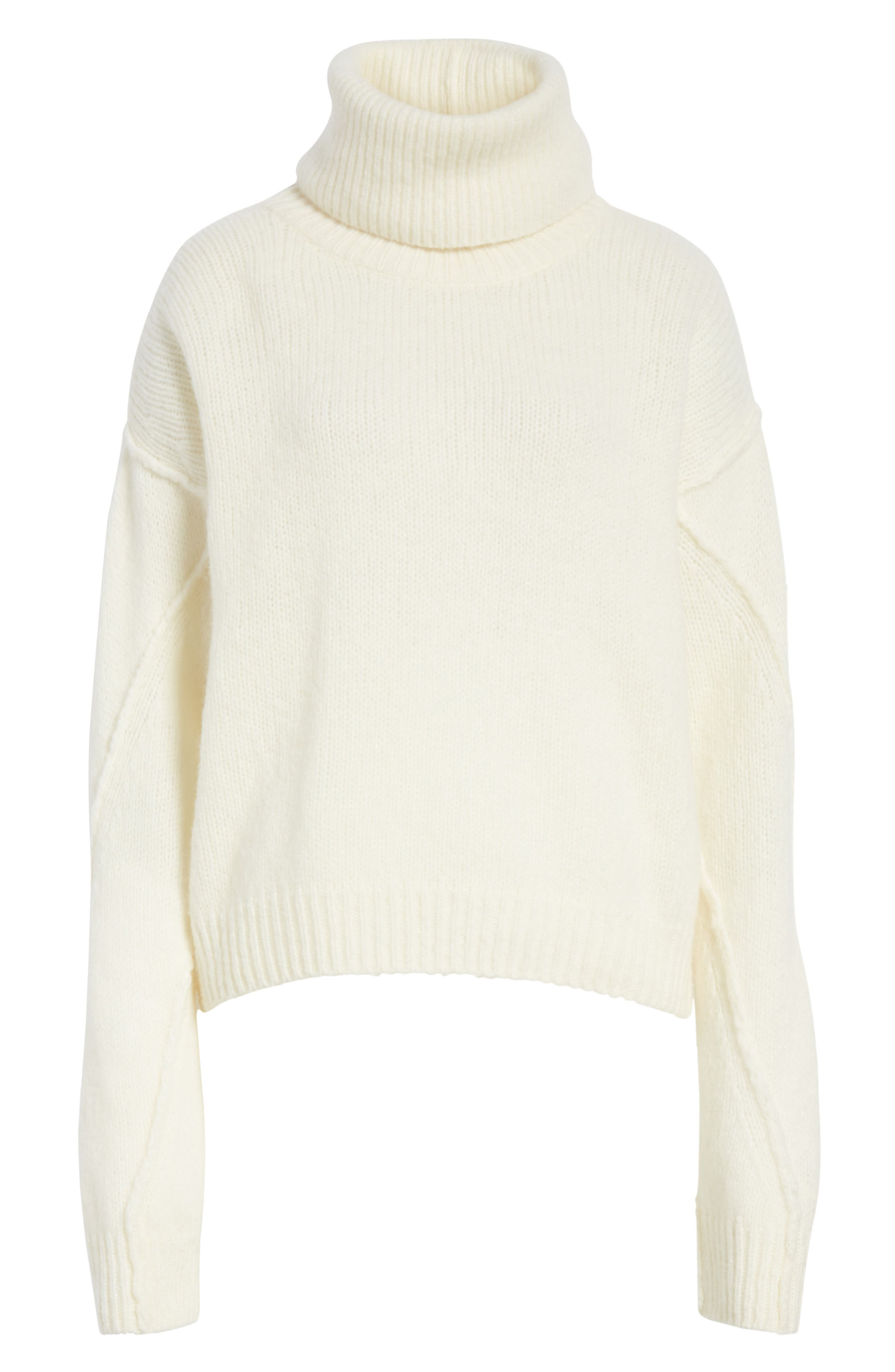 Eva Sweater with Removable Turtleneck,                             Alternate thumbnail 18, color,