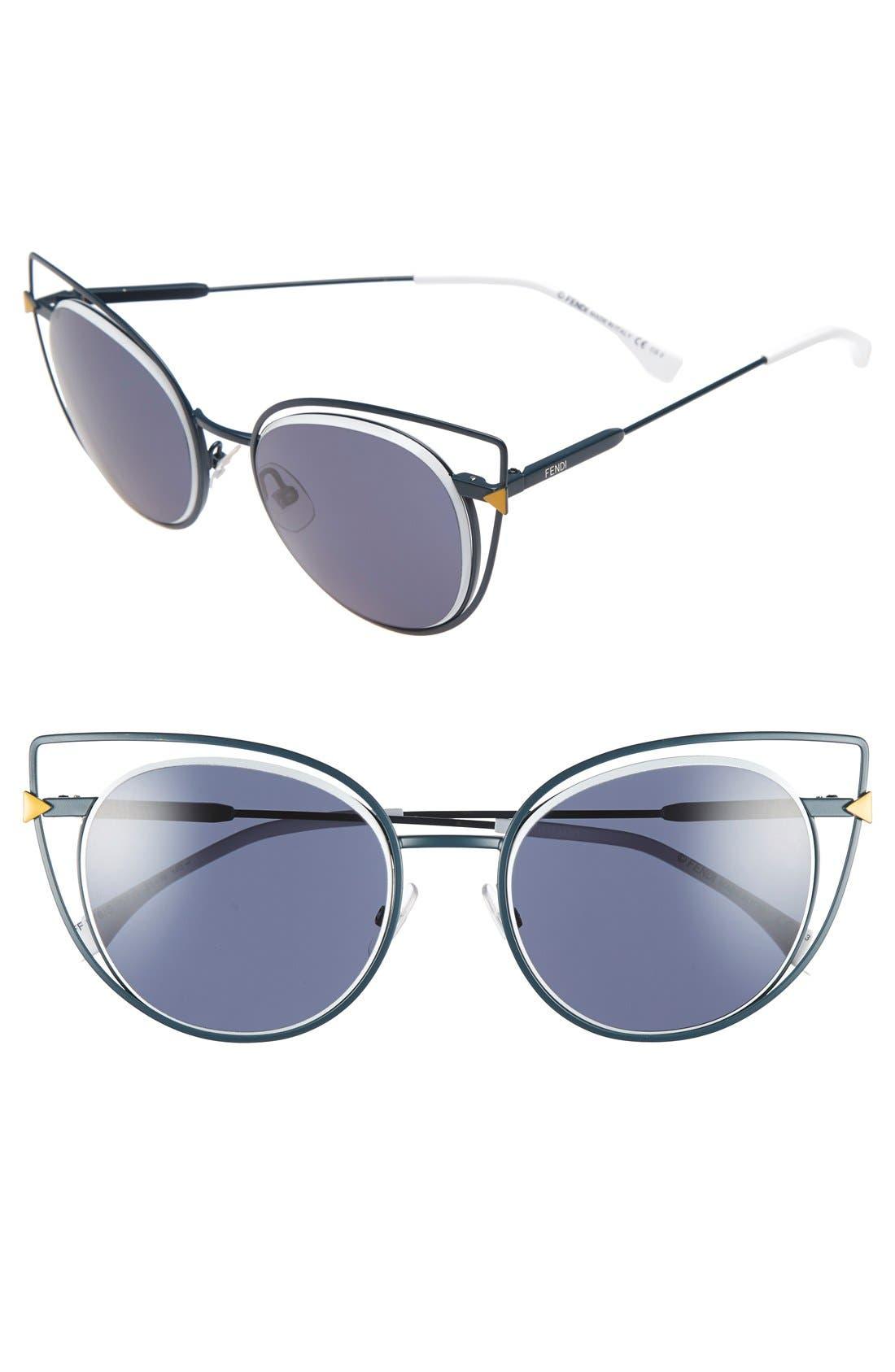 53mm Sunglasses,                             Main thumbnail 3, color,