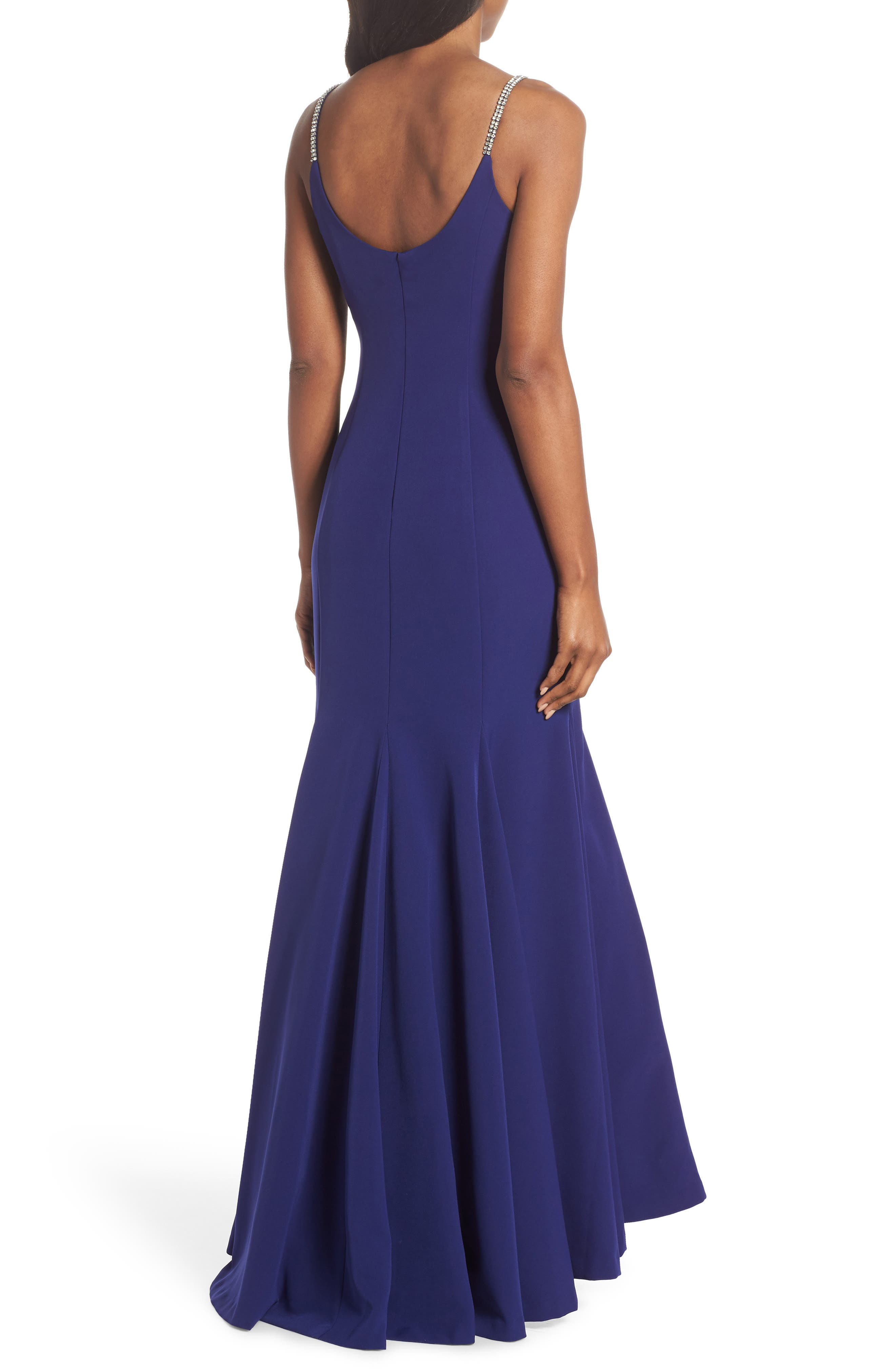 VINCE CAMUTO,                             Laguna Crystal Strap Mermaid Gown,                             Alternate thumbnail 2, color,                             430