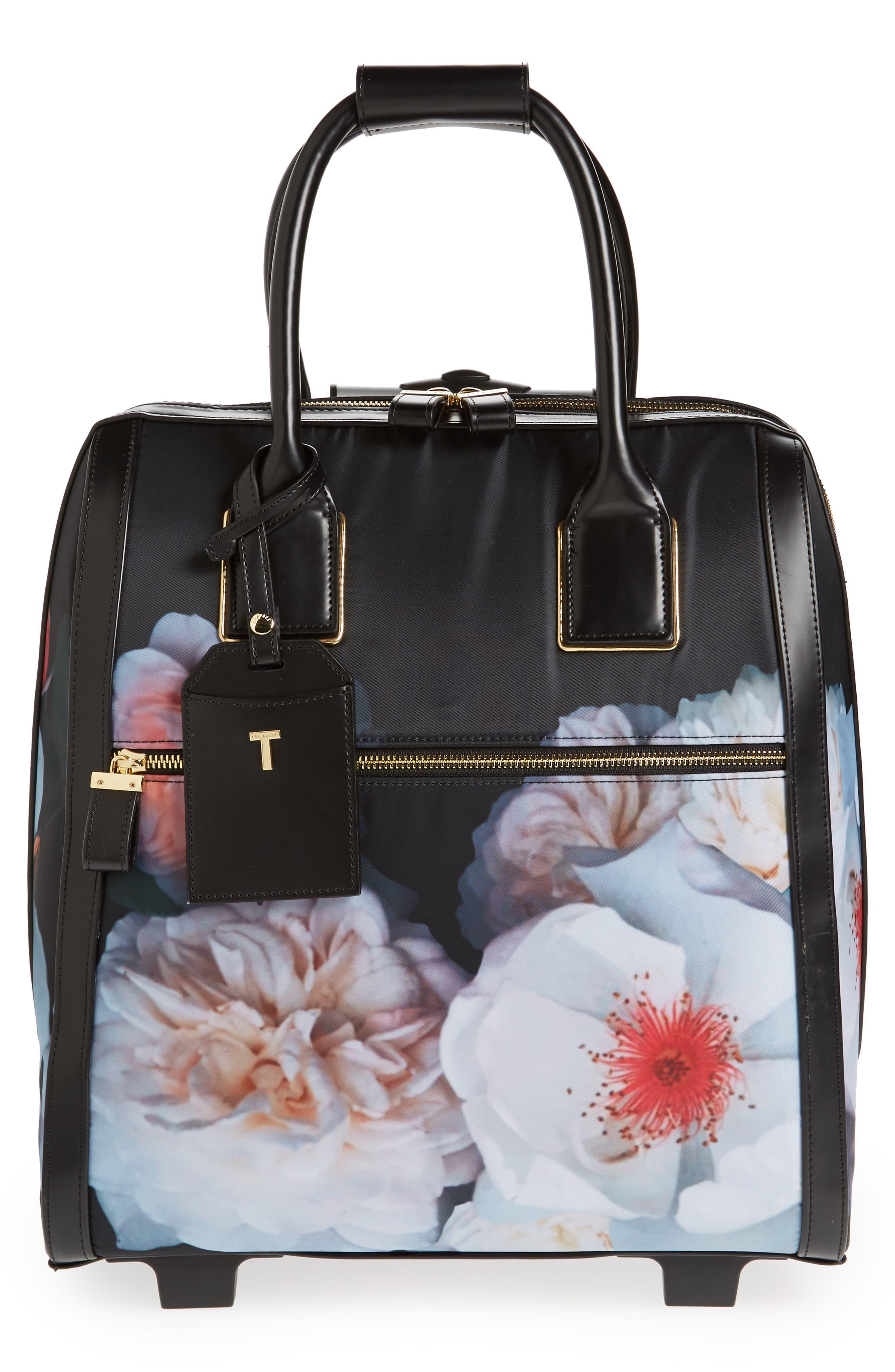 Evi Chelsea Wheeled Travel Bag,                             Main thumbnail 1, color,                             001