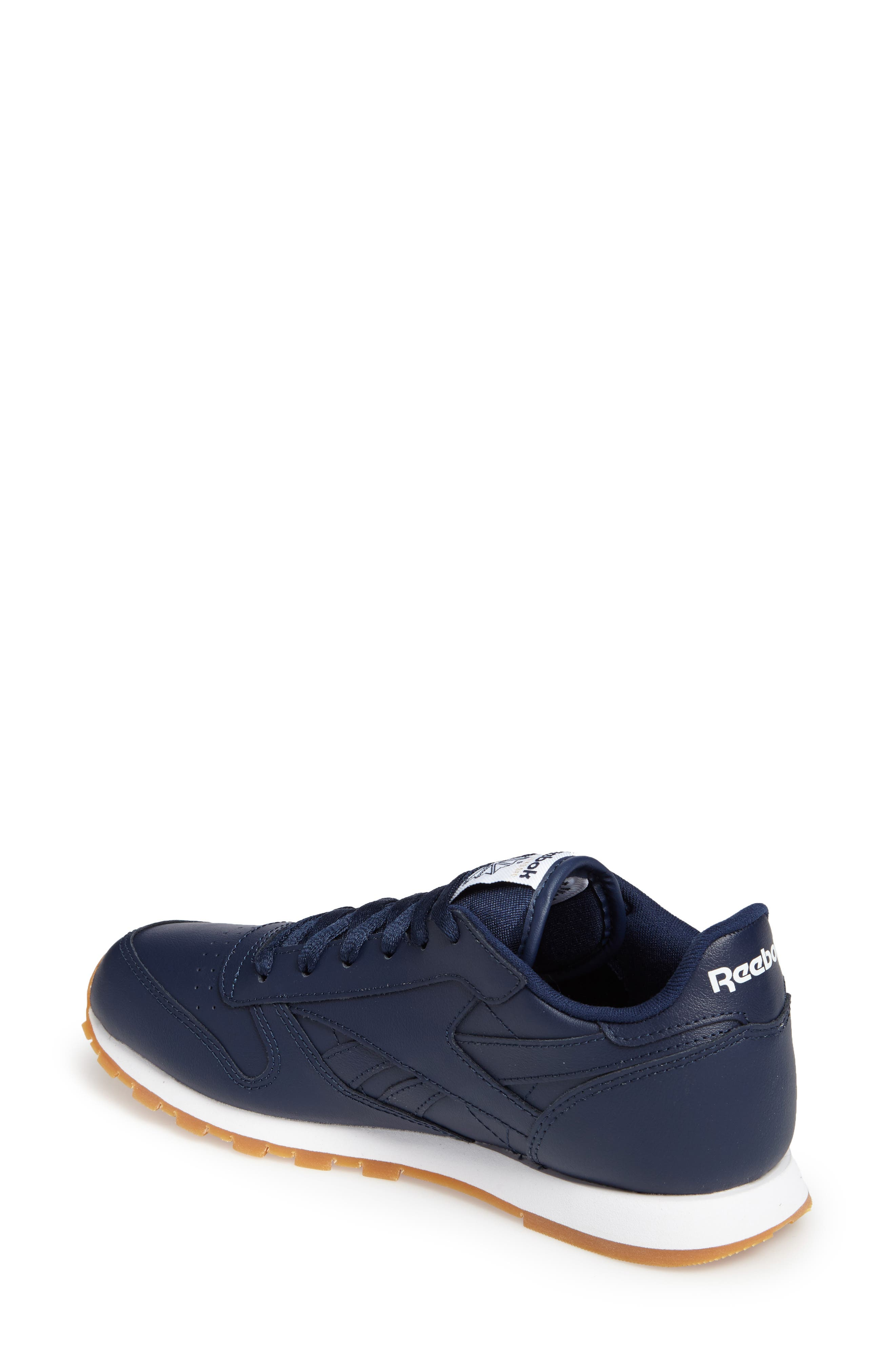 Classic Leather Sneaker,                             Alternate thumbnail 11, color,