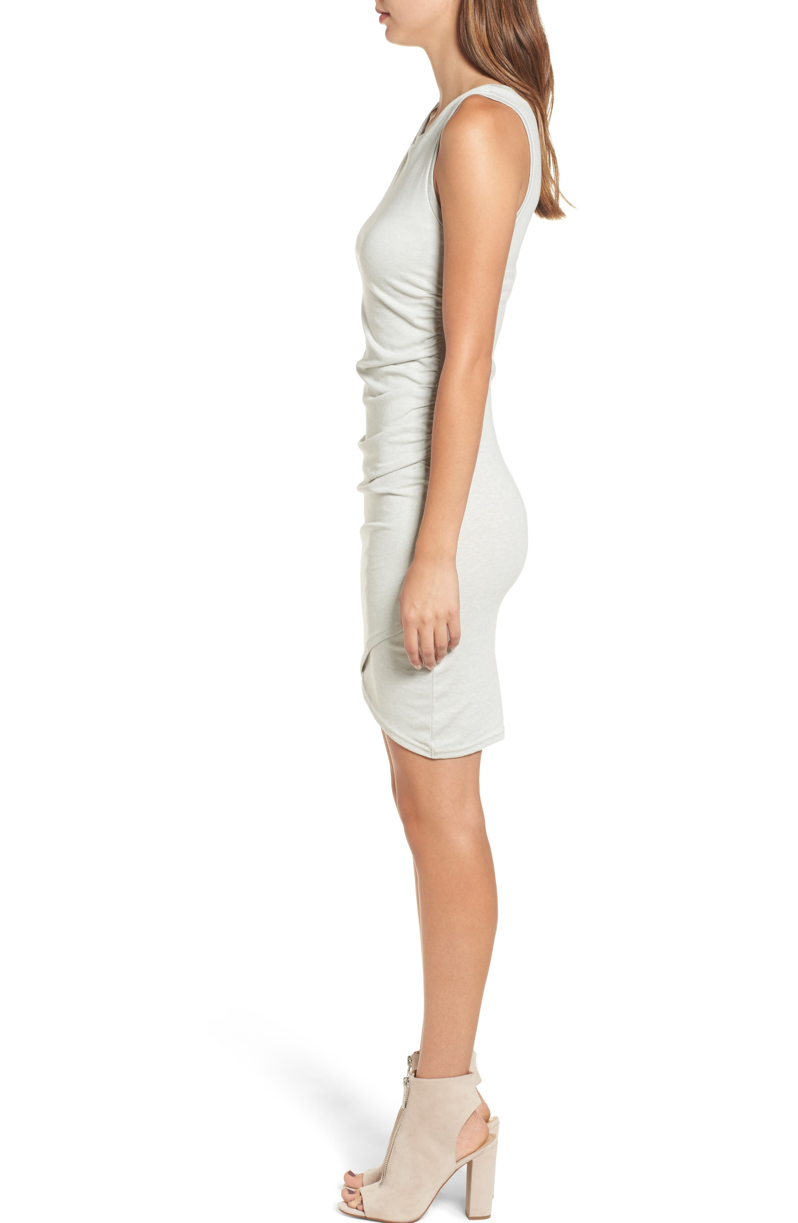 Ruched Body-Con Tank Dress,                             Alternate thumbnail 75, color,