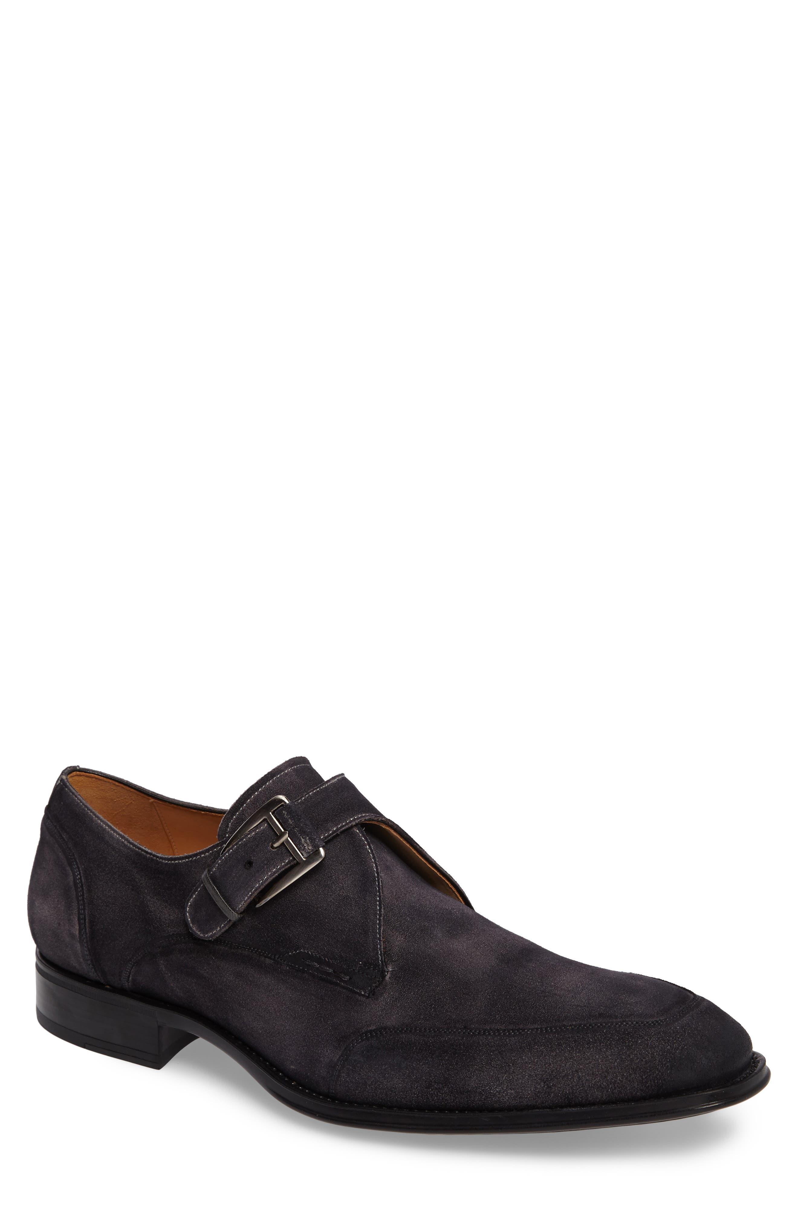 Baza Monk Strap Shoe,                             Main thumbnail 1, color,                             020