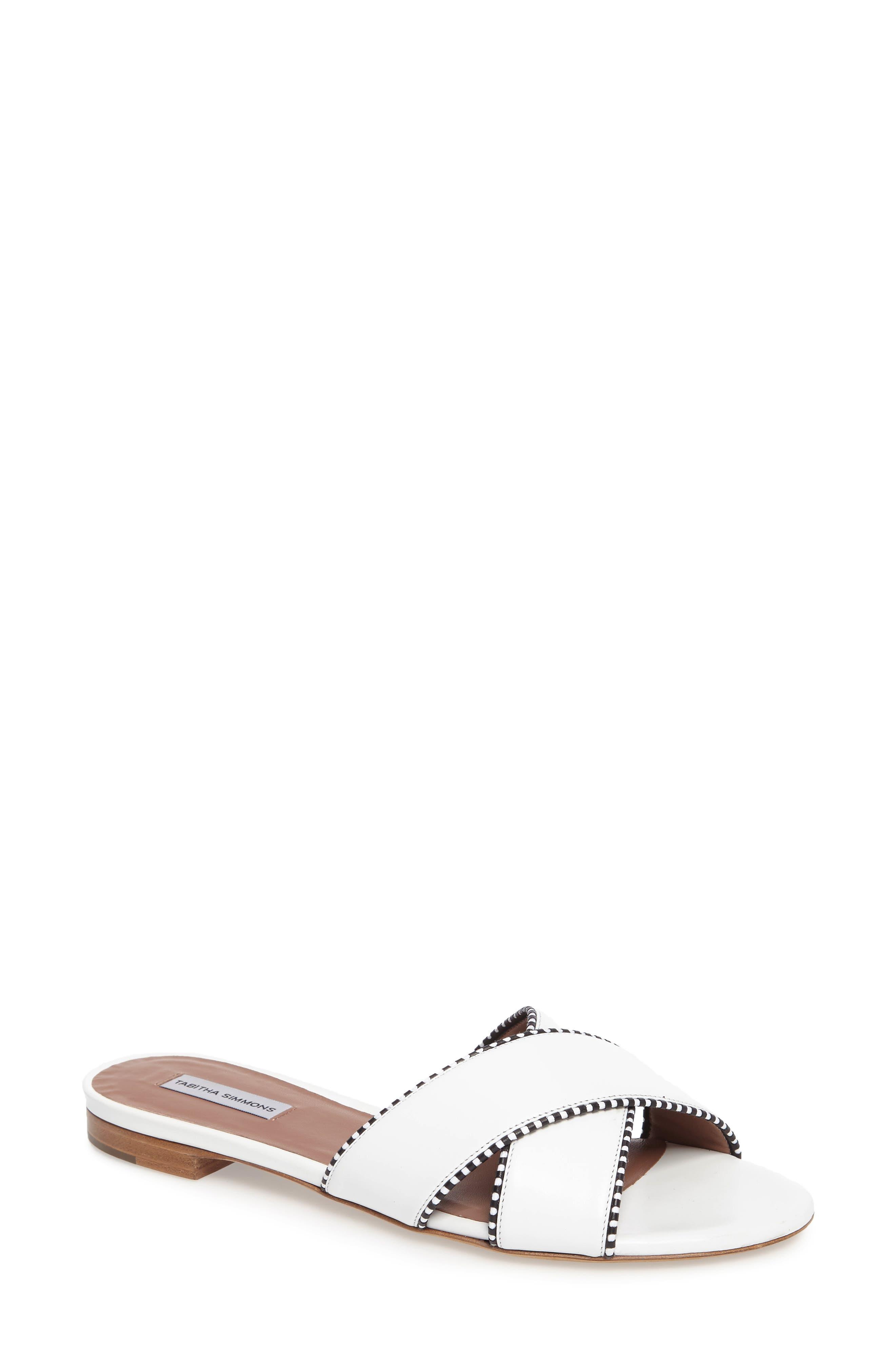 Lassie Profilo Slide Sandal,                             Main thumbnail 1, color,                             100