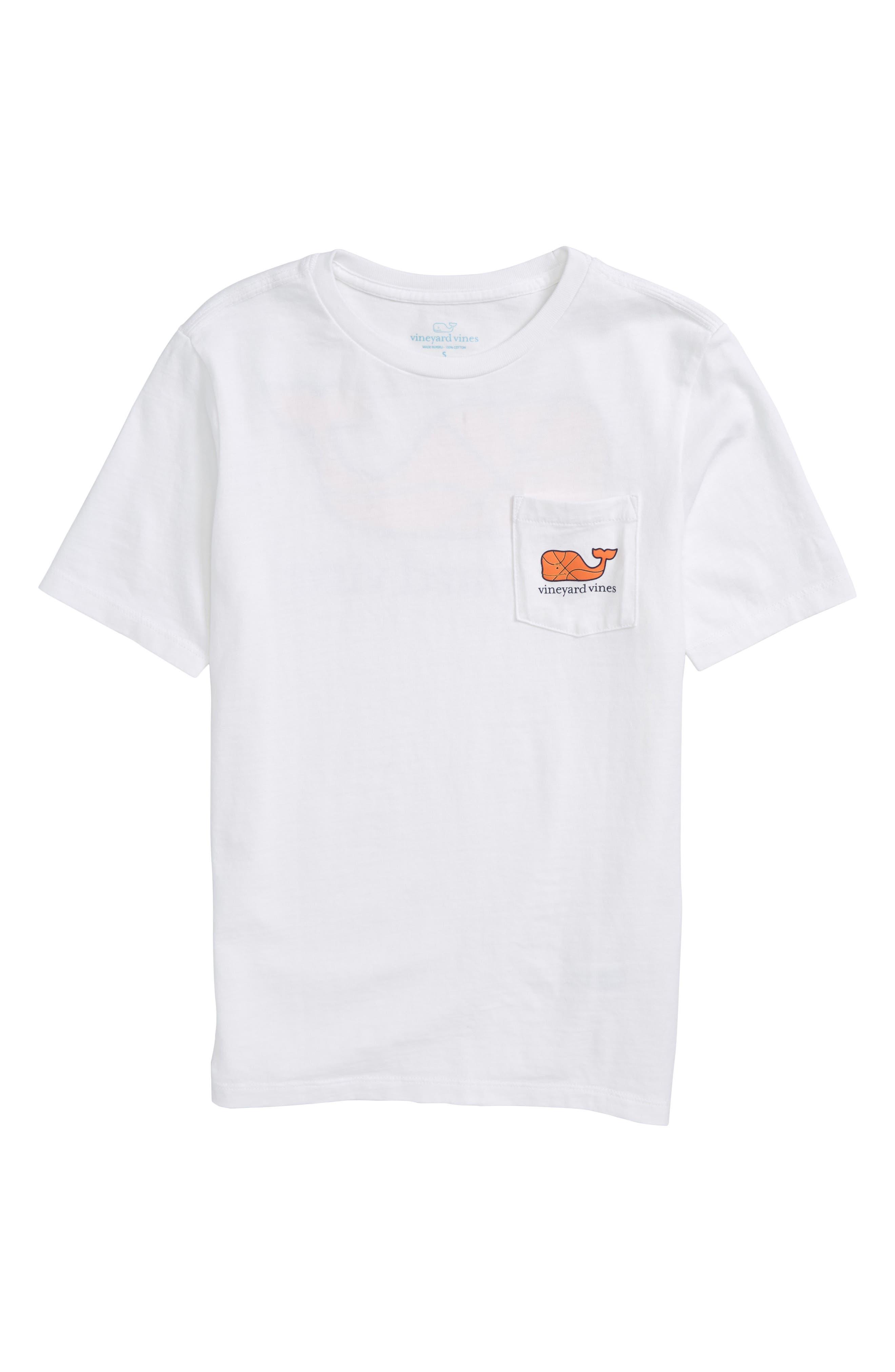 Basketball Whale T-Shirt, Main, color, 100