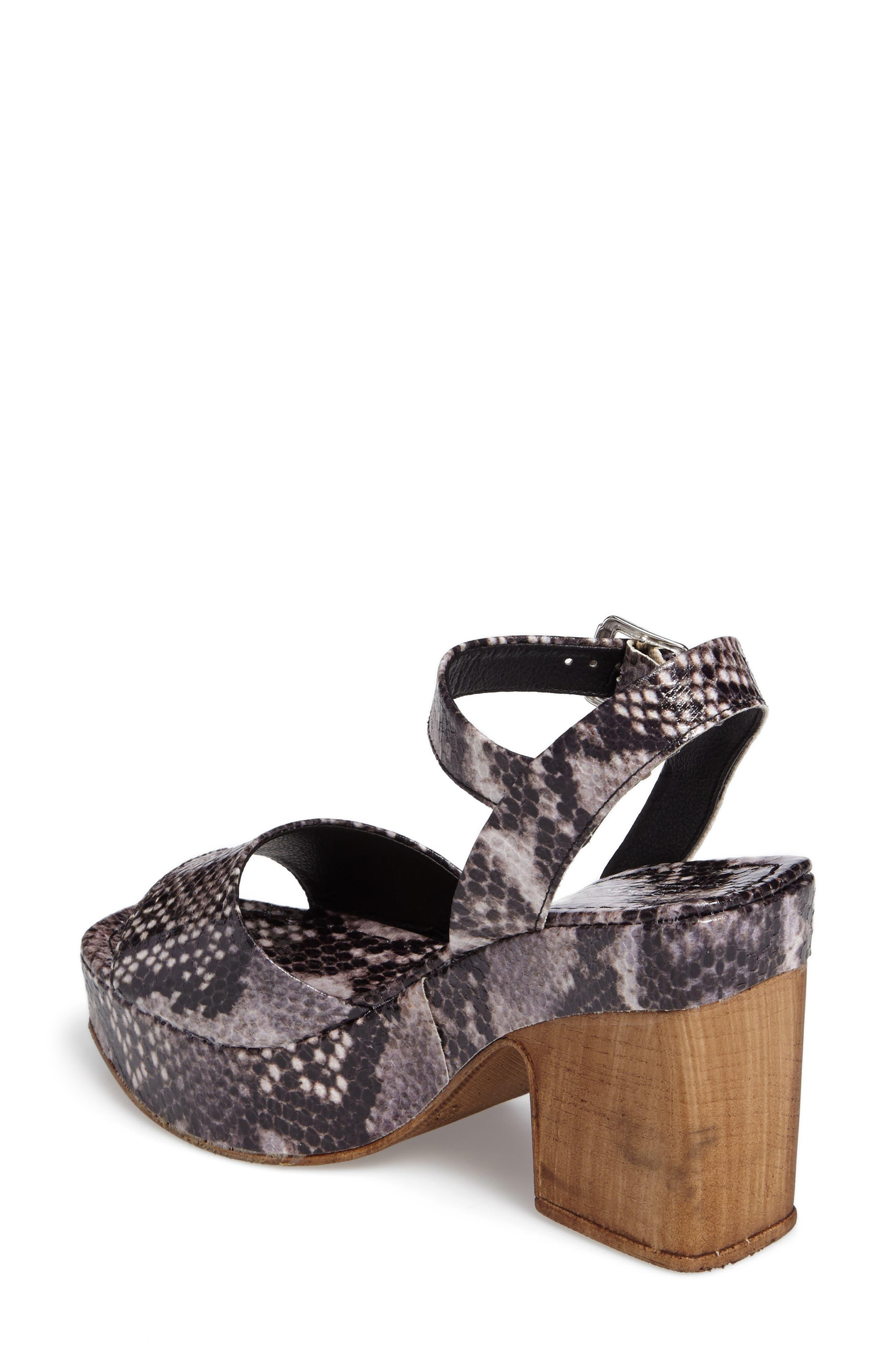 Violets Platform Sandals,                             Alternate thumbnail 5, color,