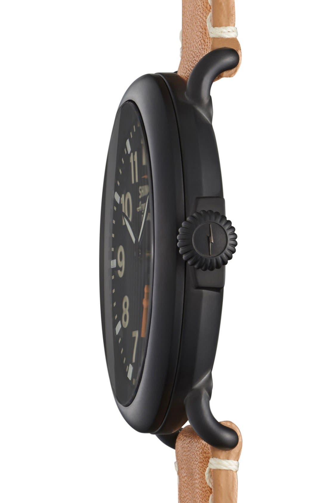 'The Runwell' Leather Strap Watch, 47mm,                             Alternate thumbnail 44, color,