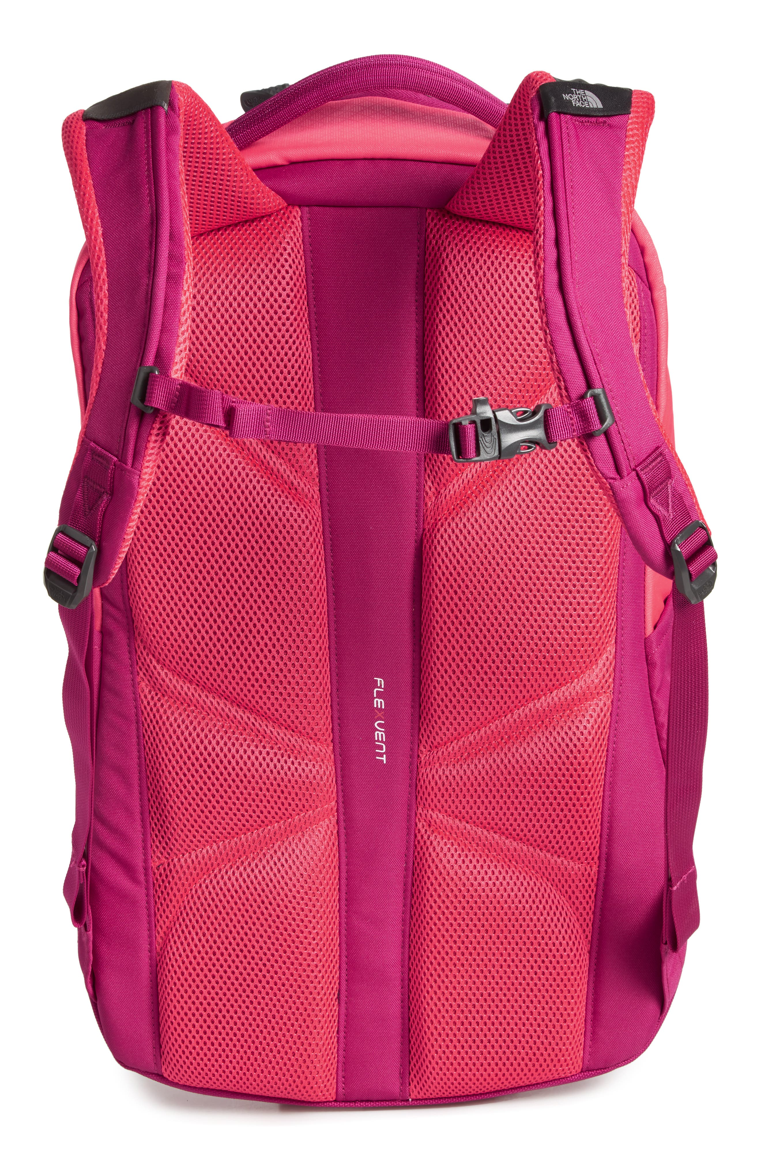 Vault Backpack,                             Alternate thumbnail 2, color,                             ATOMIC PINK/ DRAMATIC PLUM