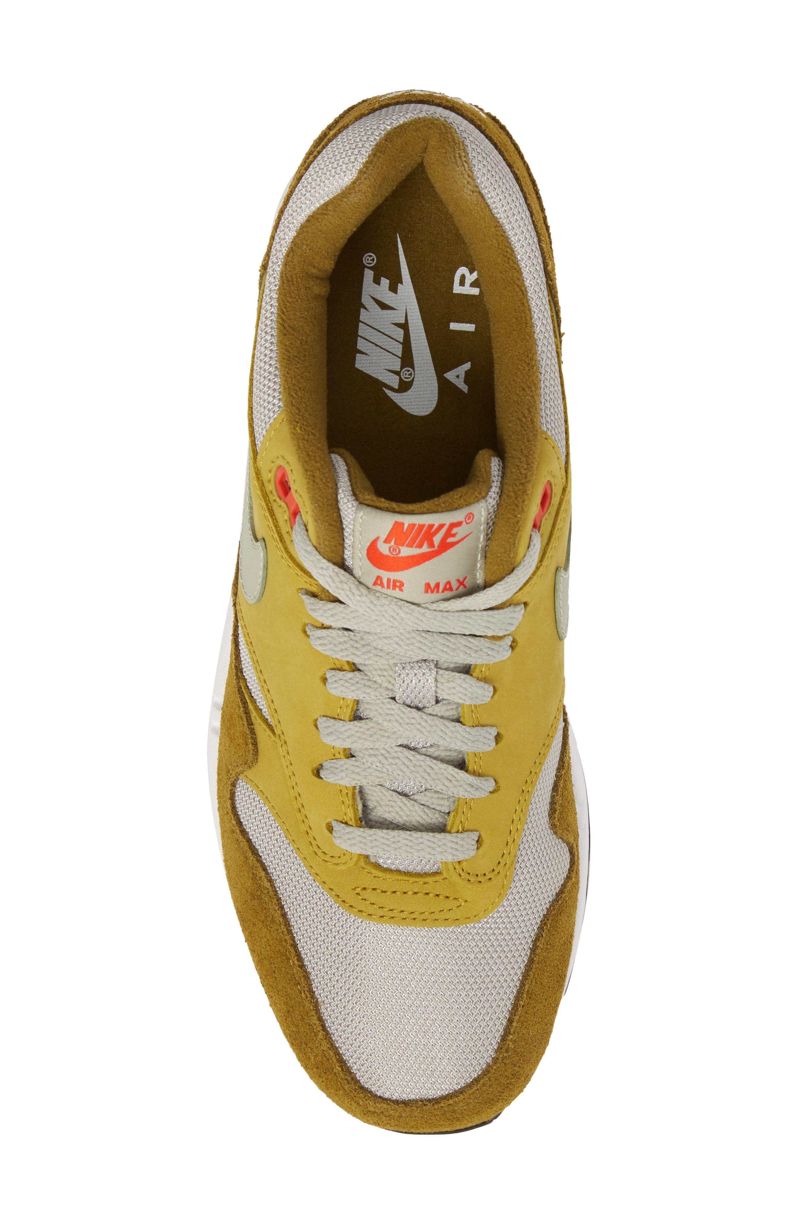 Air Max 1 Premium Retro Sneaker,                             Alternate thumbnail 9, color,