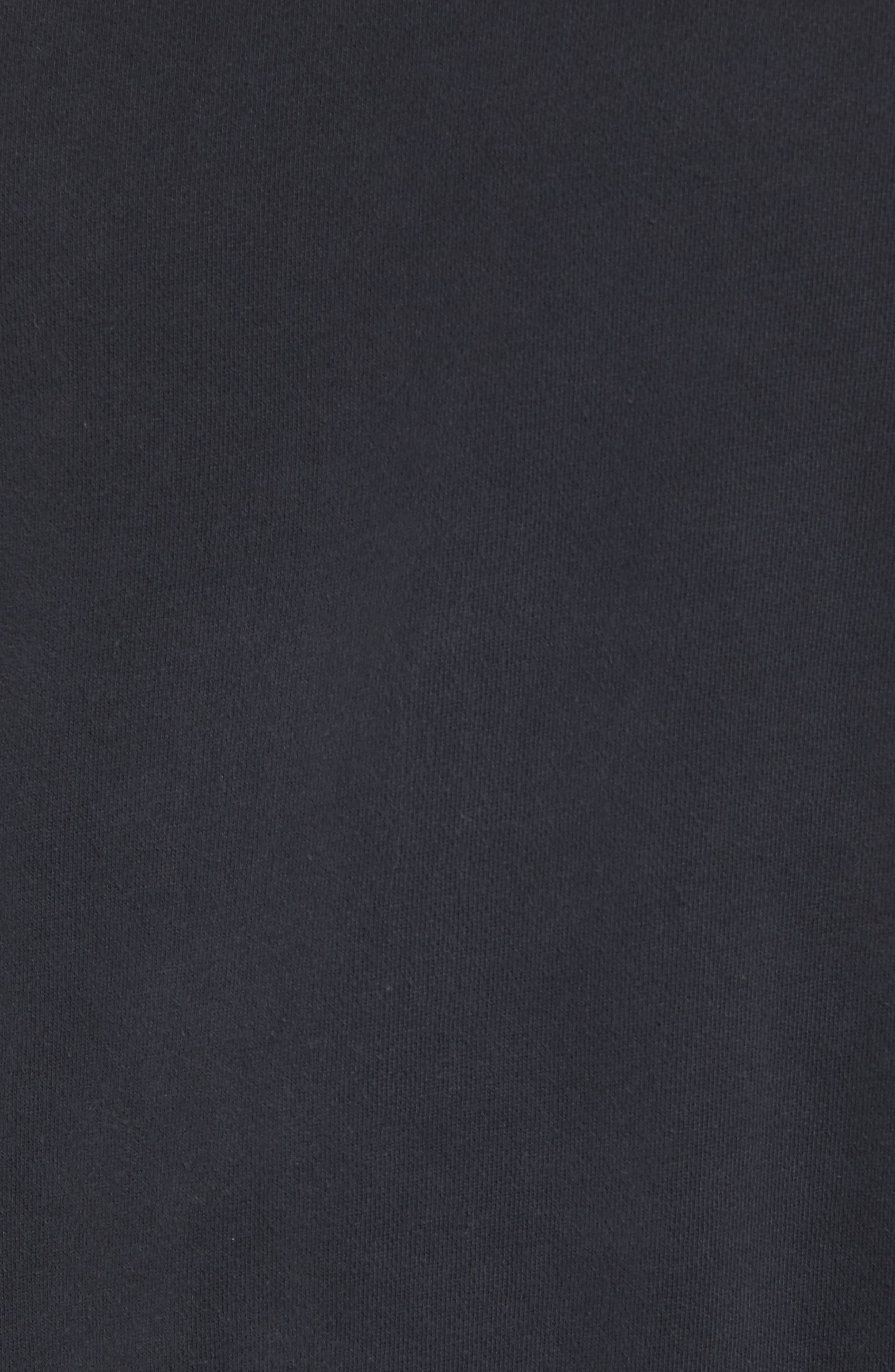 Bay Meadows Sweatshirt,                             Alternate thumbnail 5, color,                             BLACK