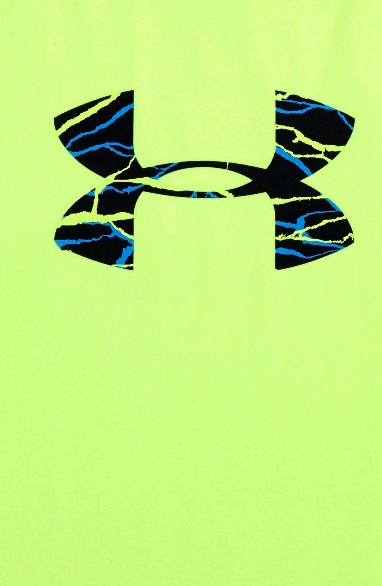 Voltage Graphic HeatGear<sup>®</sup> T-Shirt,                             Alternate thumbnail 2, color,                             310