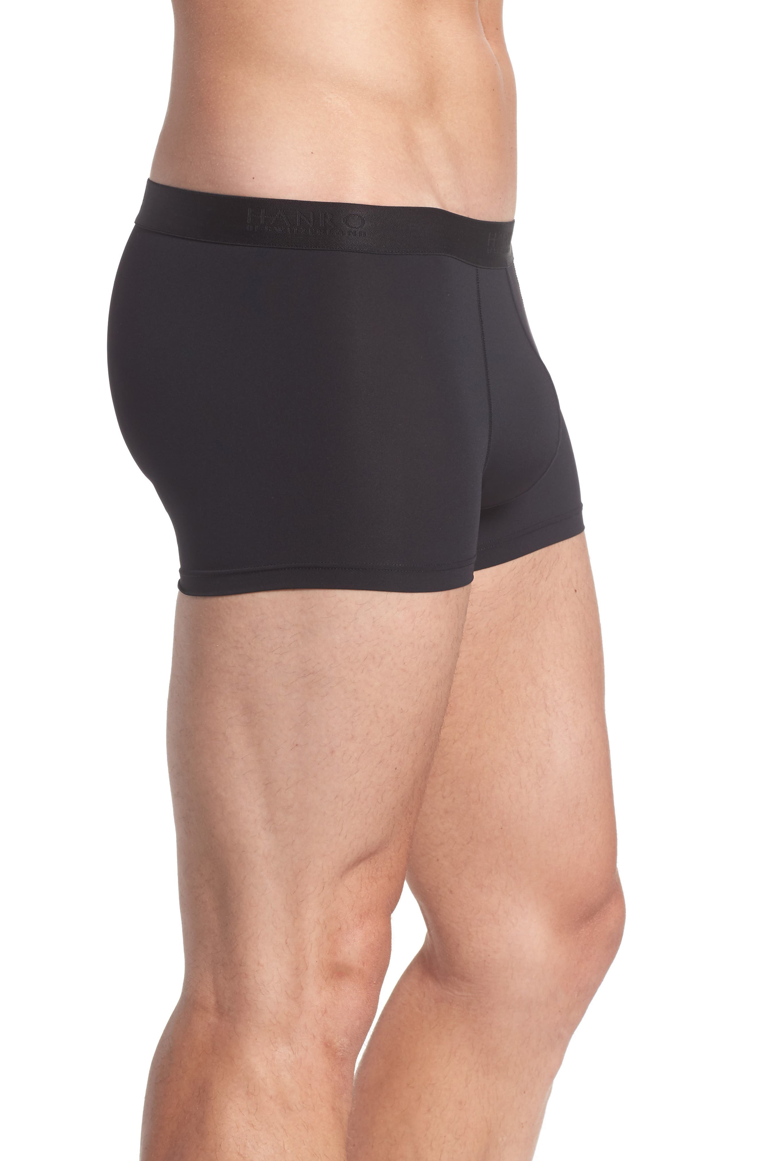 Micro Touch Boxer Brief,                             Alternate thumbnail 3, color,                             BLACK