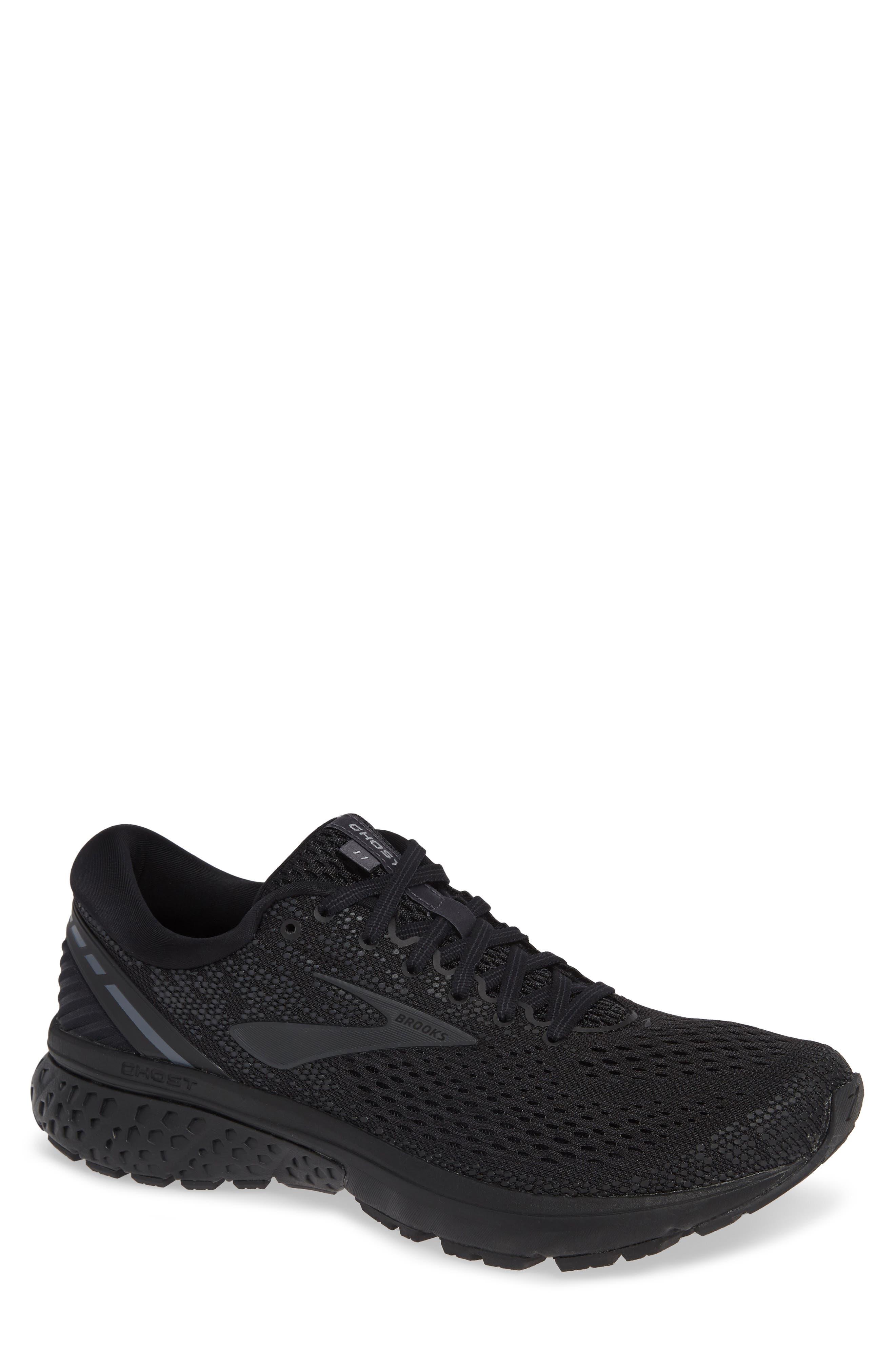 Ghost 11 Running Shoe, Main, color, BLACK/ EBONY