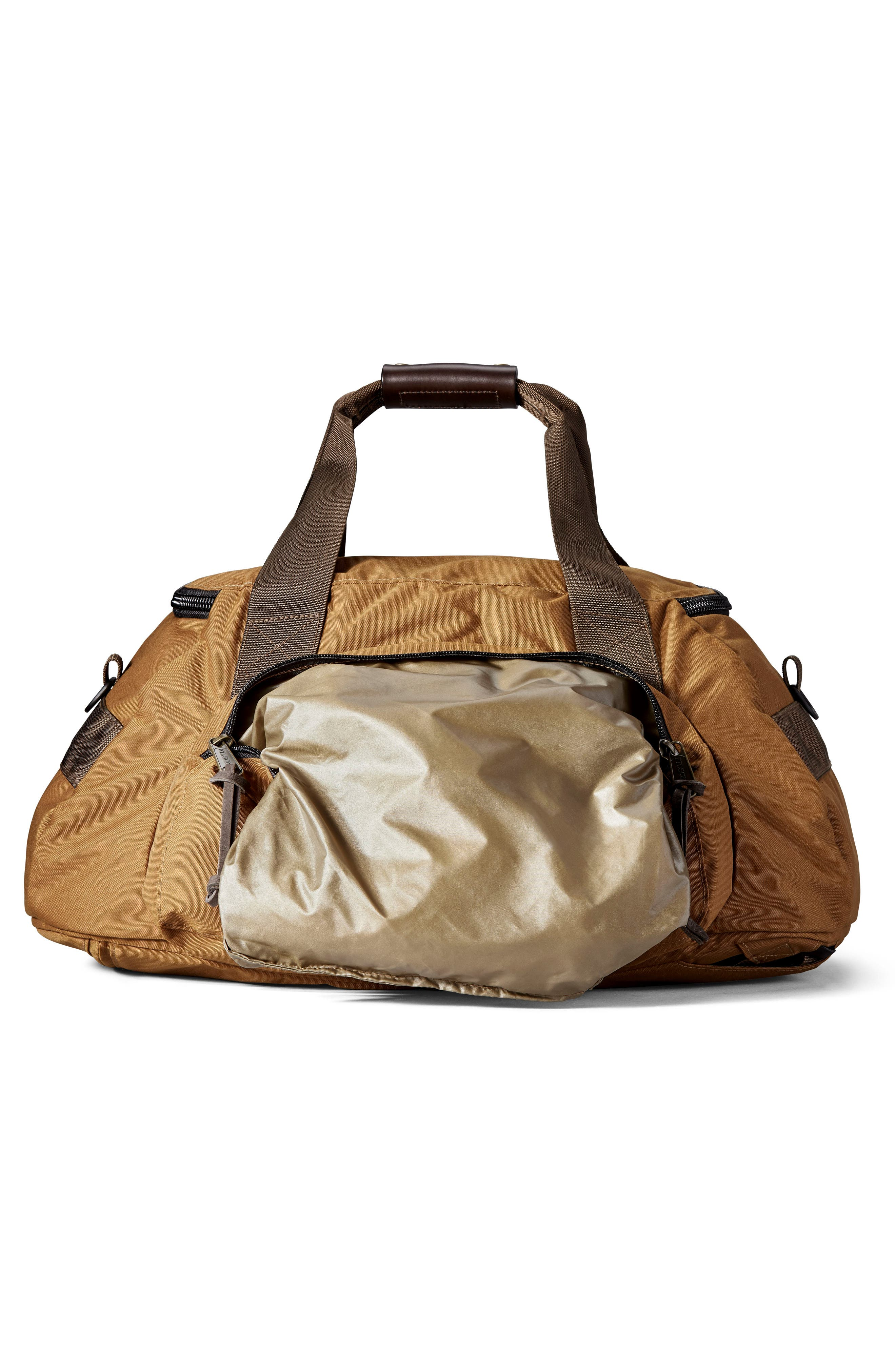 Convertible Duffel Bag,                             Alternate thumbnail 3, color,                             WHISKEY