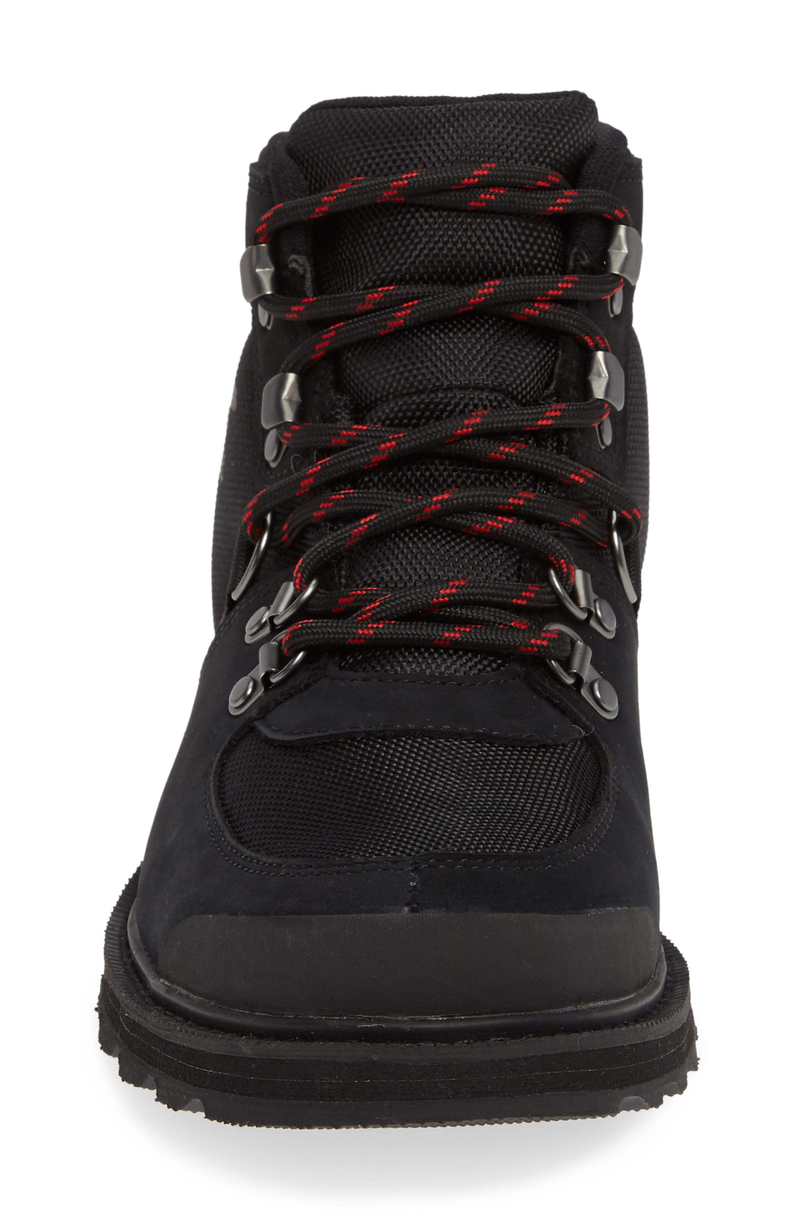 Madson Sport Waterproof Hiking Boot,                             Alternate thumbnail 4, color,                             BLACK