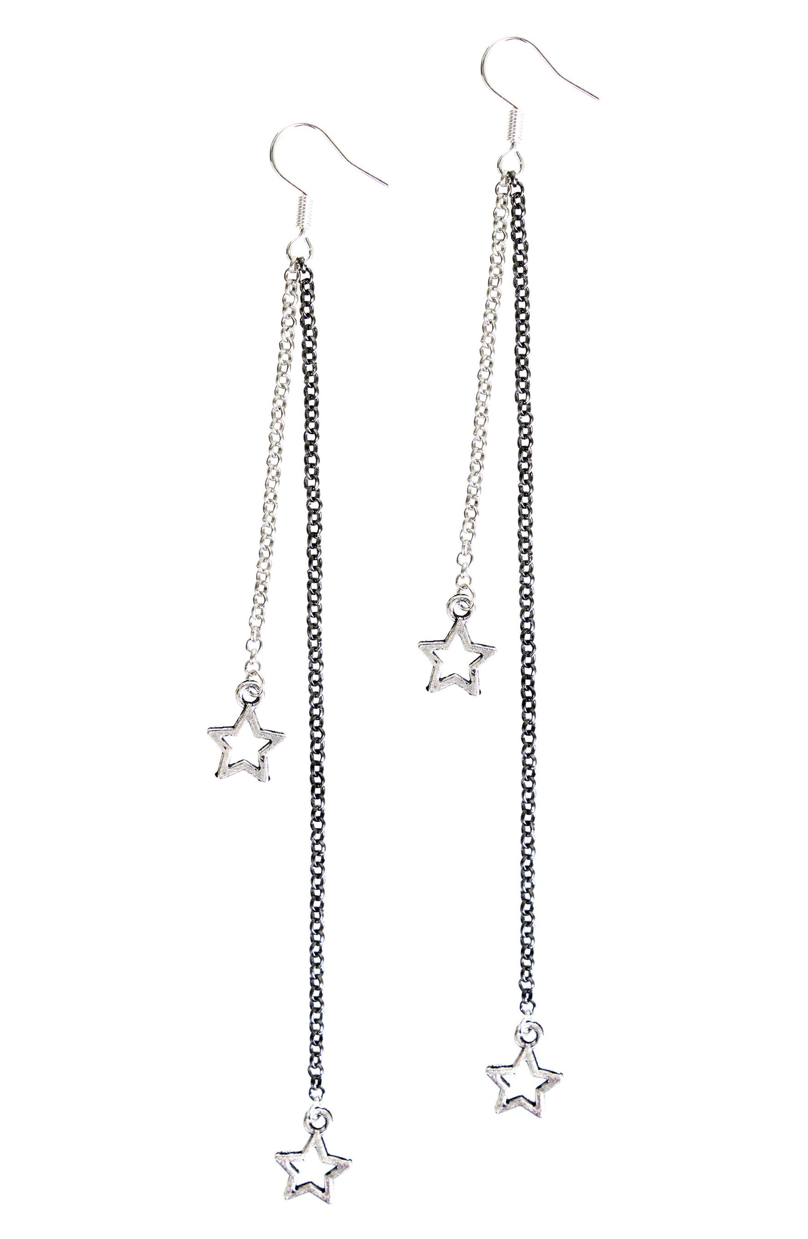 The Vela Star Drop Earrings,                             Main thumbnail 1, color,                             040