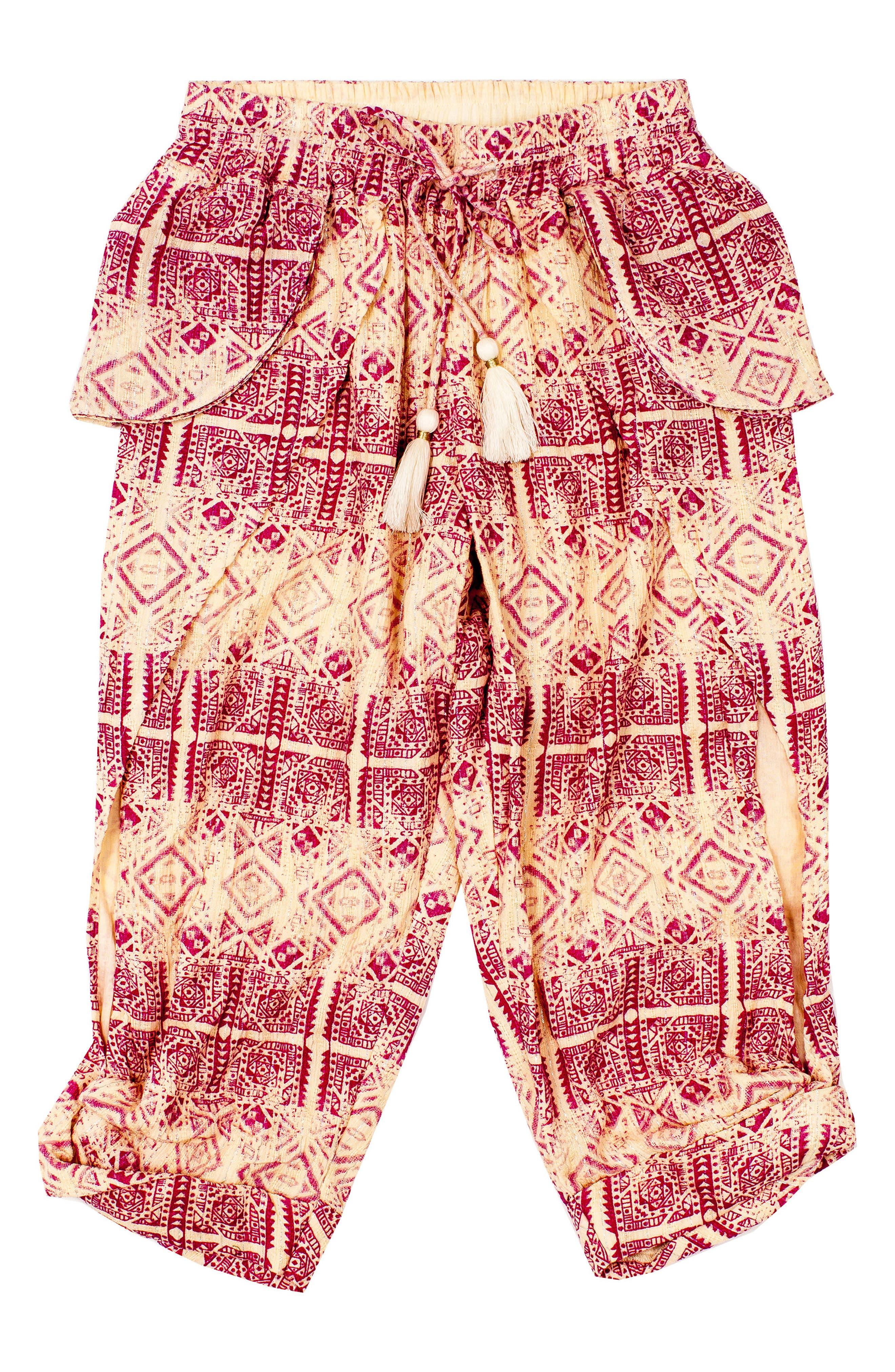 Crescent Moon Kicker Crop Pants,                         Main,                         color, CREAM