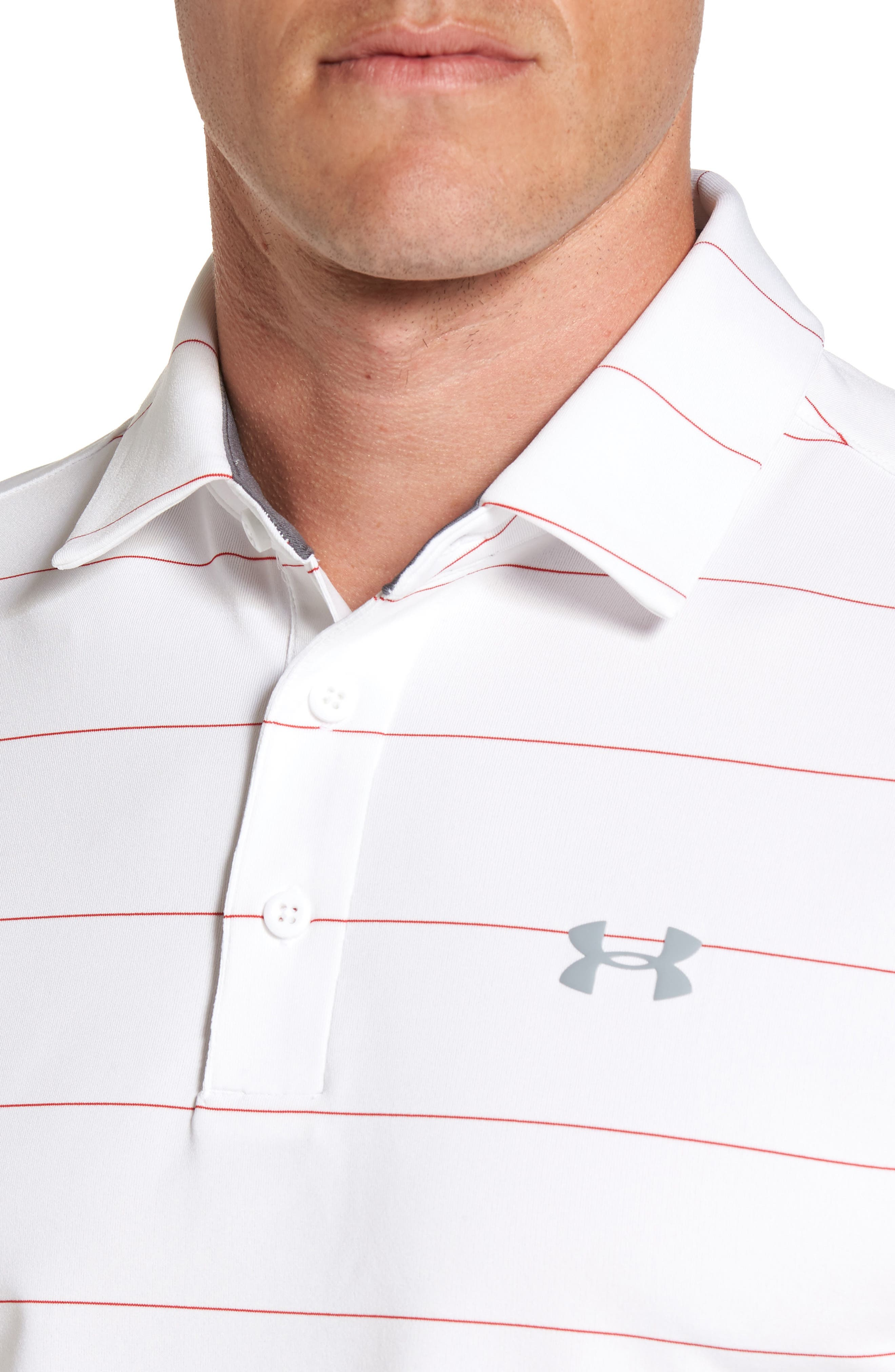 'Playoff' Loose Fit Short Sleeve Polo,                             Alternate thumbnail 178, color,