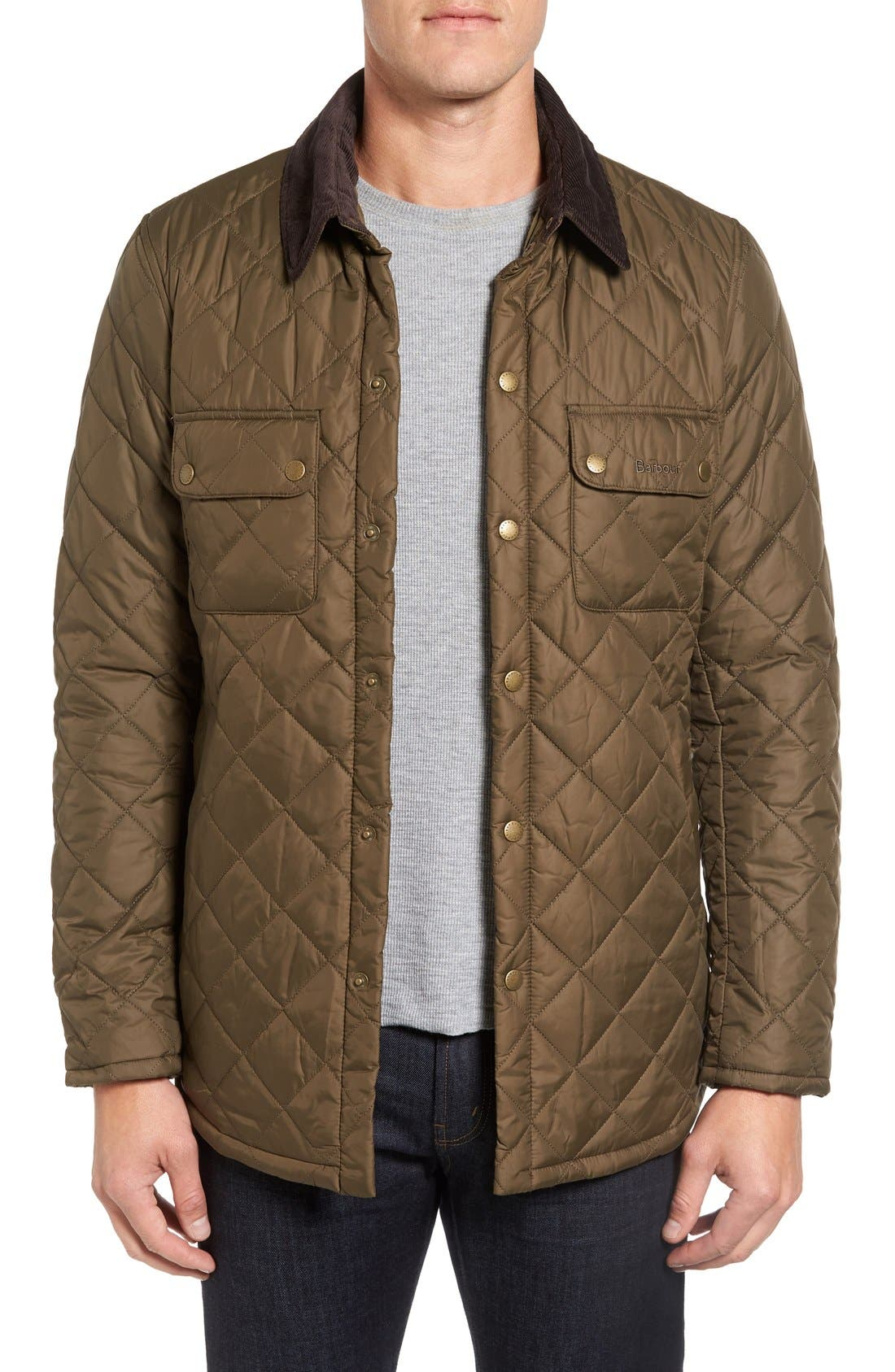 'Akenside' Quilted Jacket,                             Main thumbnail 1, color,                             340