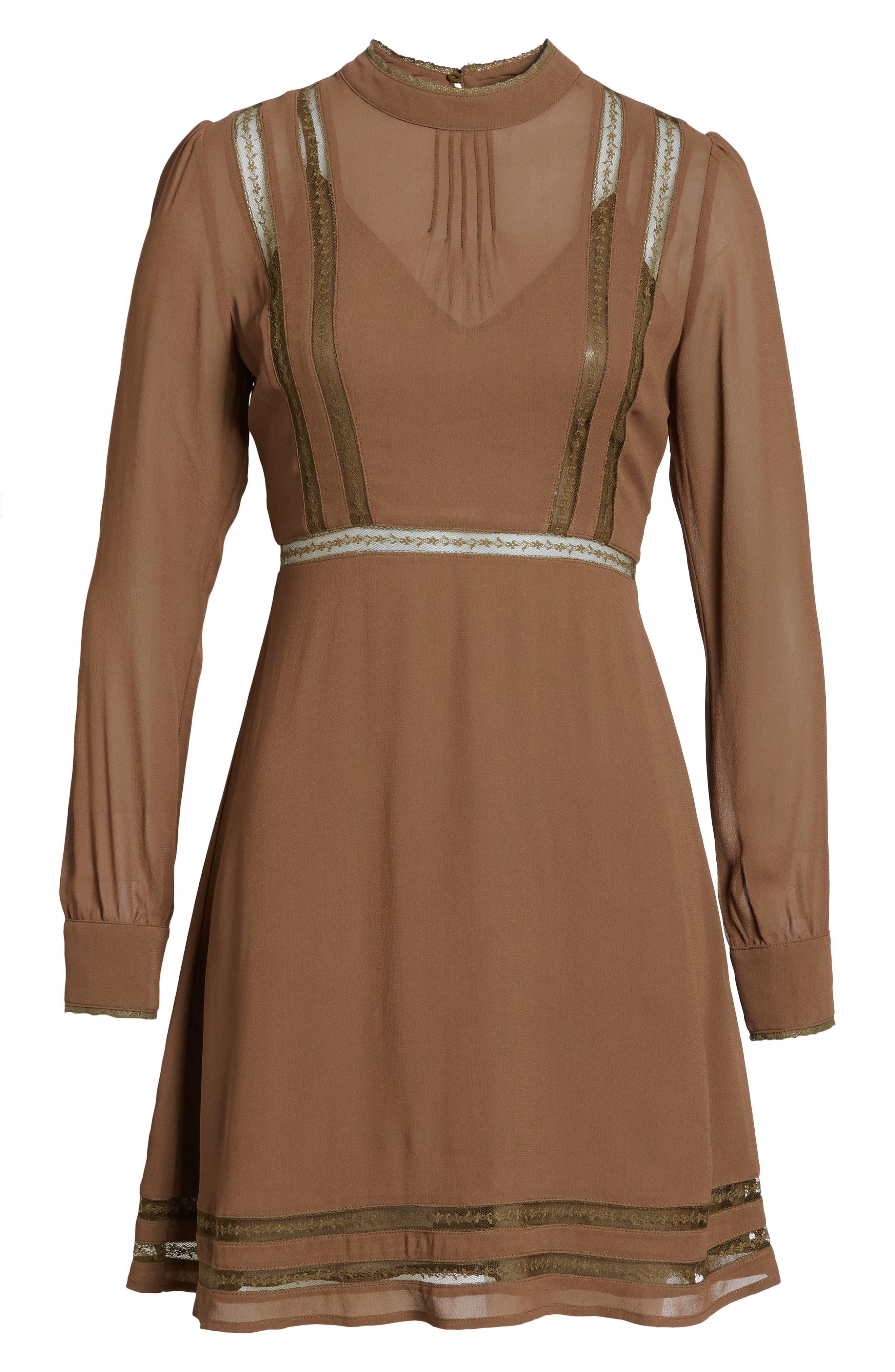 Kirsten A-Line Dress,                             Alternate thumbnail 22, color,
