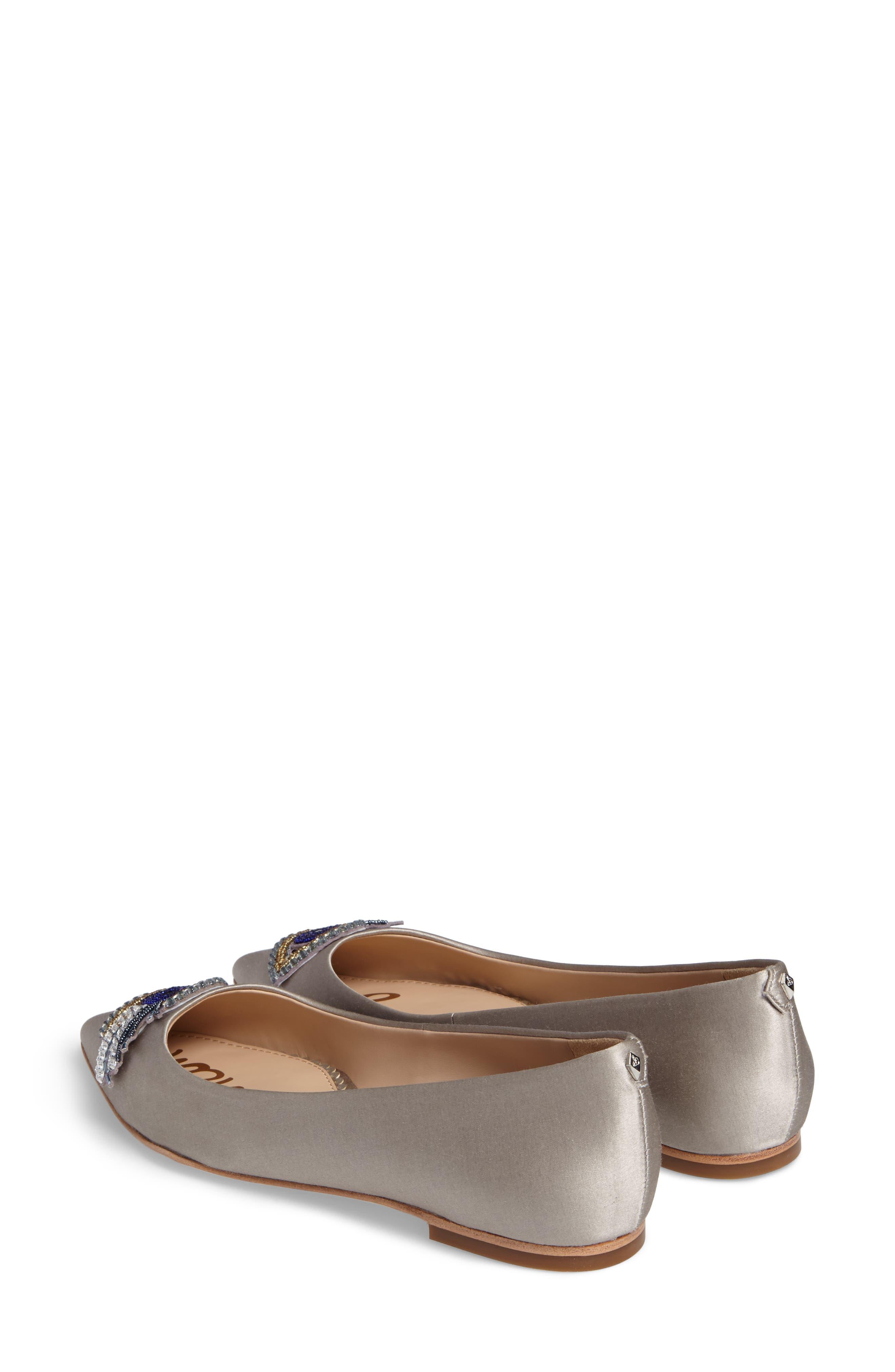 Rafaella Pointy Toe Ballet Flat,                             Alternate thumbnail 3, color,                             020