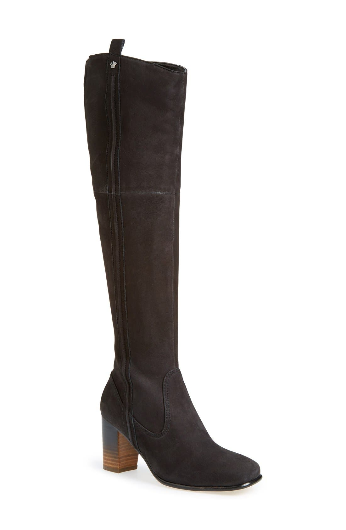 'Ventura' Over the Knee Boot,                             Main thumbnail 1, color,                             001