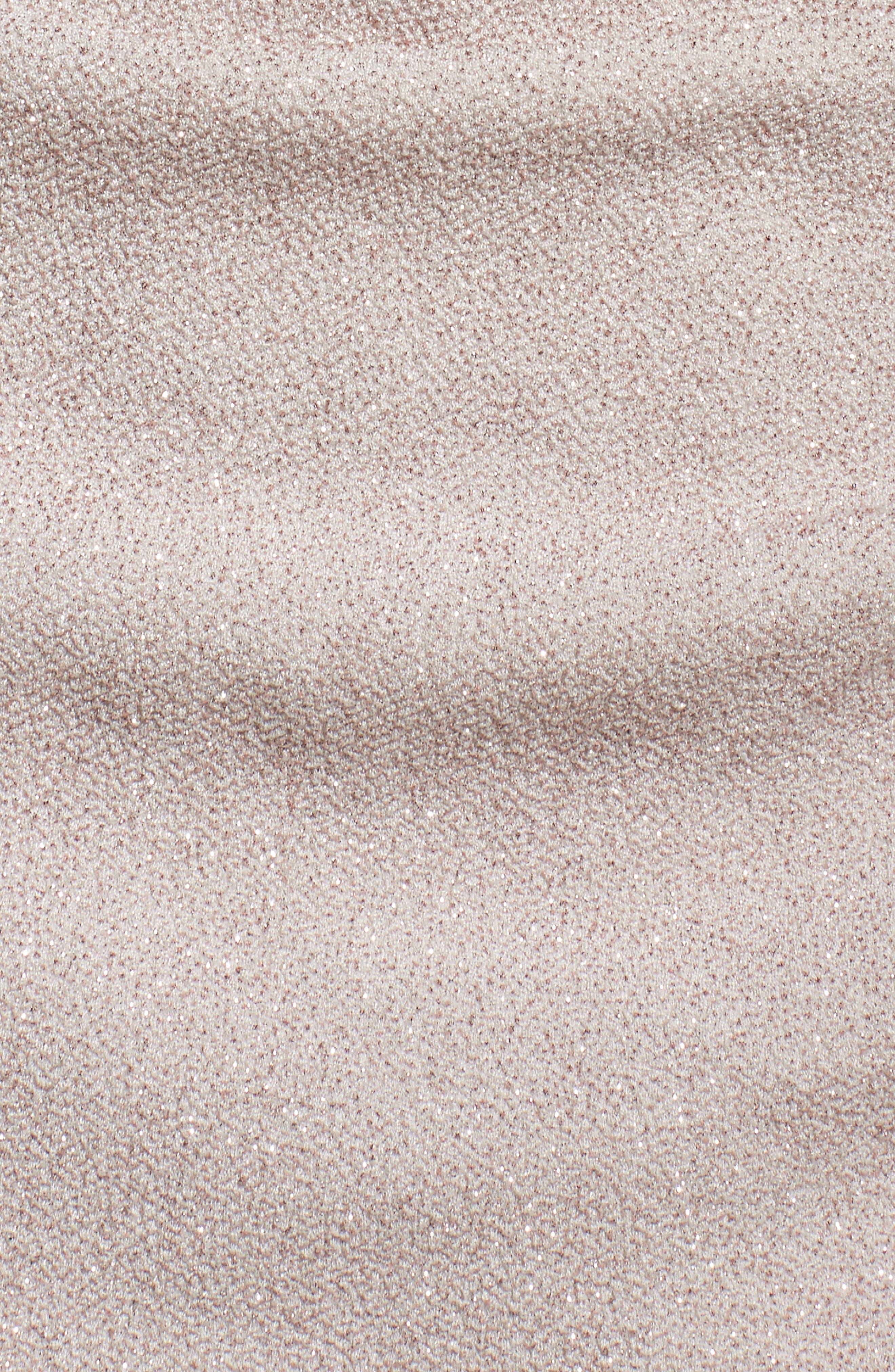 Off the Shoulder Sheath Dress,                             Alternate thumbnail 6, color,                             CHAMPAGNE