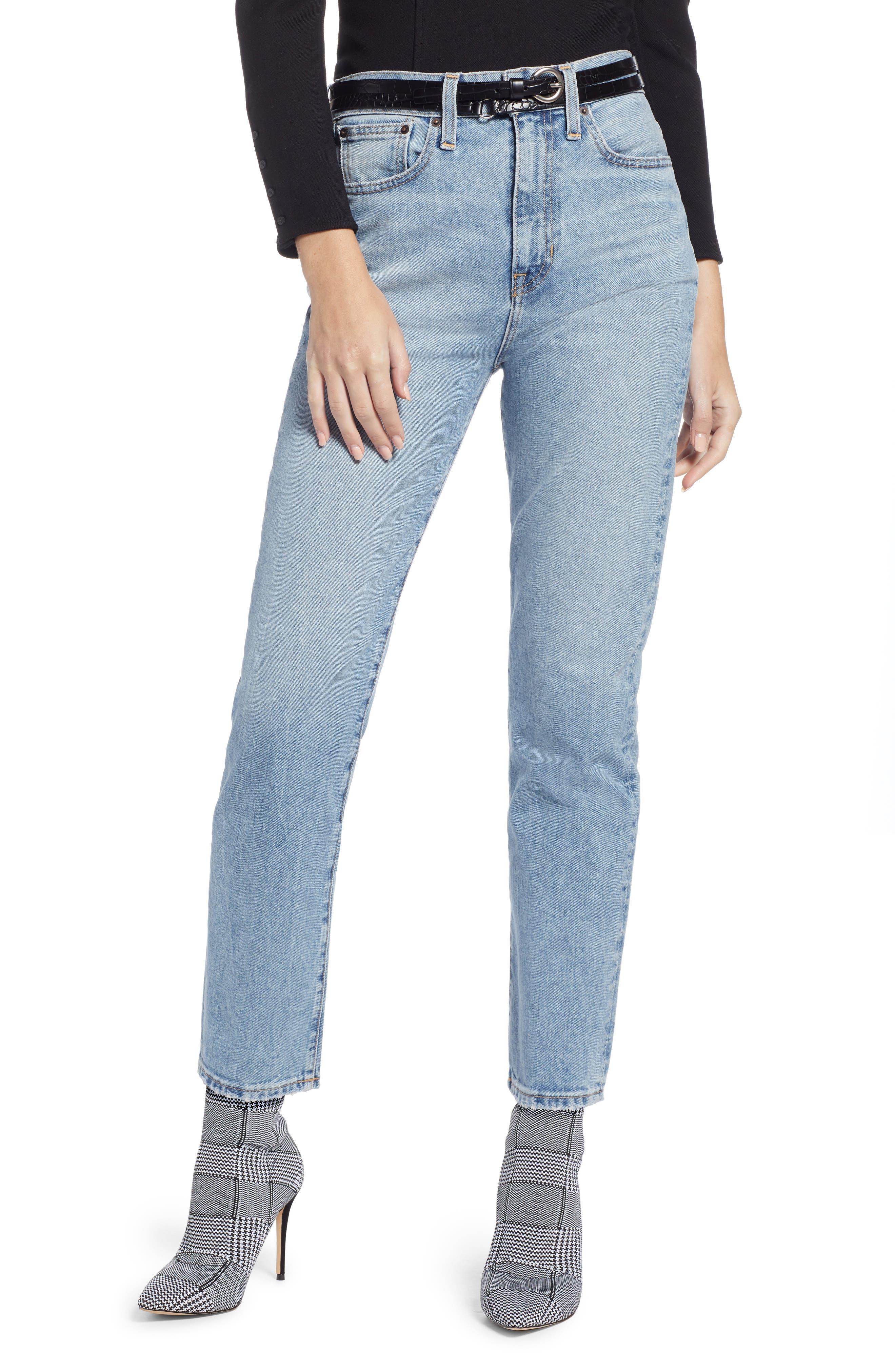 Ankle Cigarette Jeans,                         Main,                         color, 420
