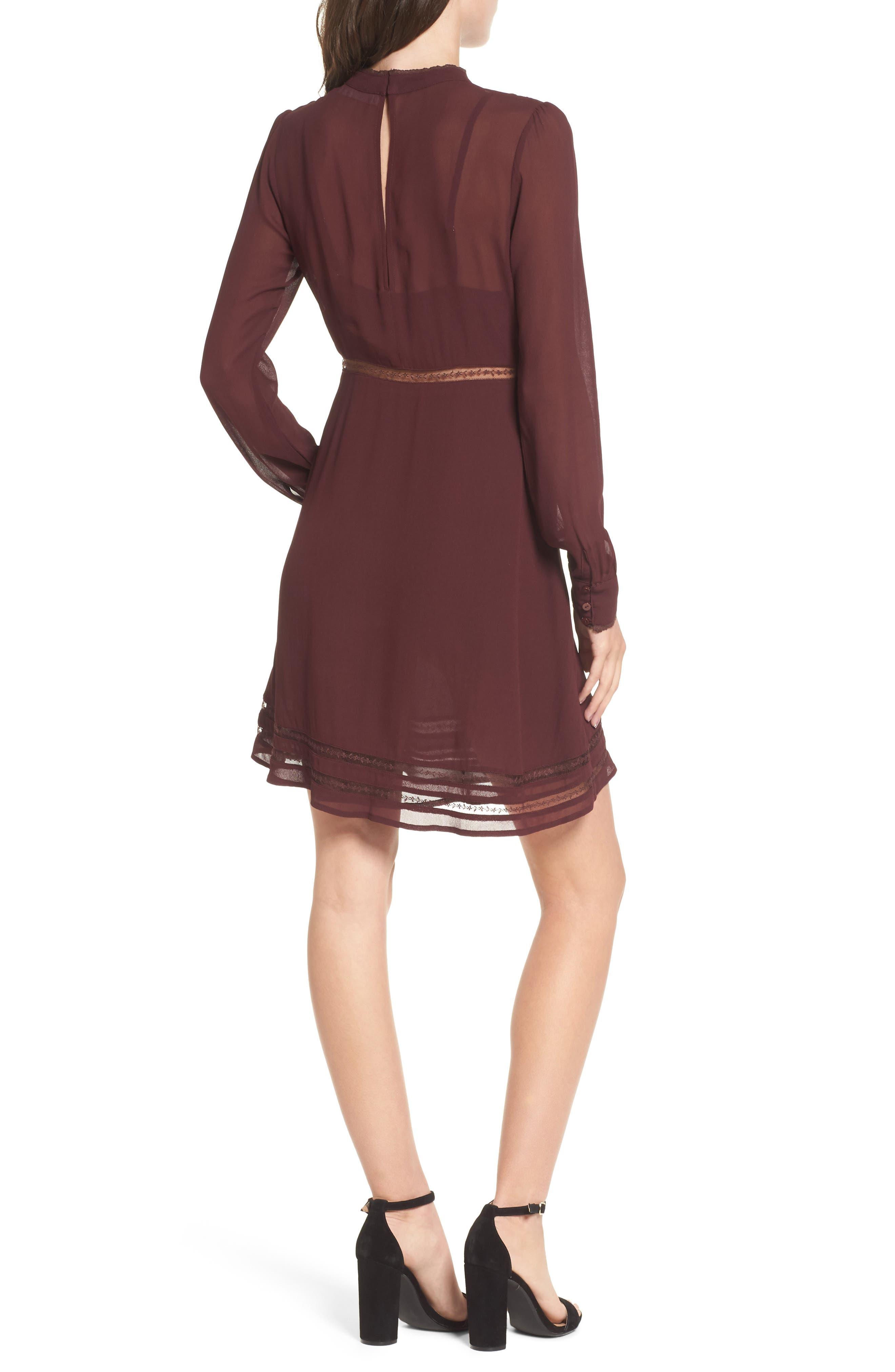 Kirsten A-Line Dress,                             Alternate thumbnail 8, color,