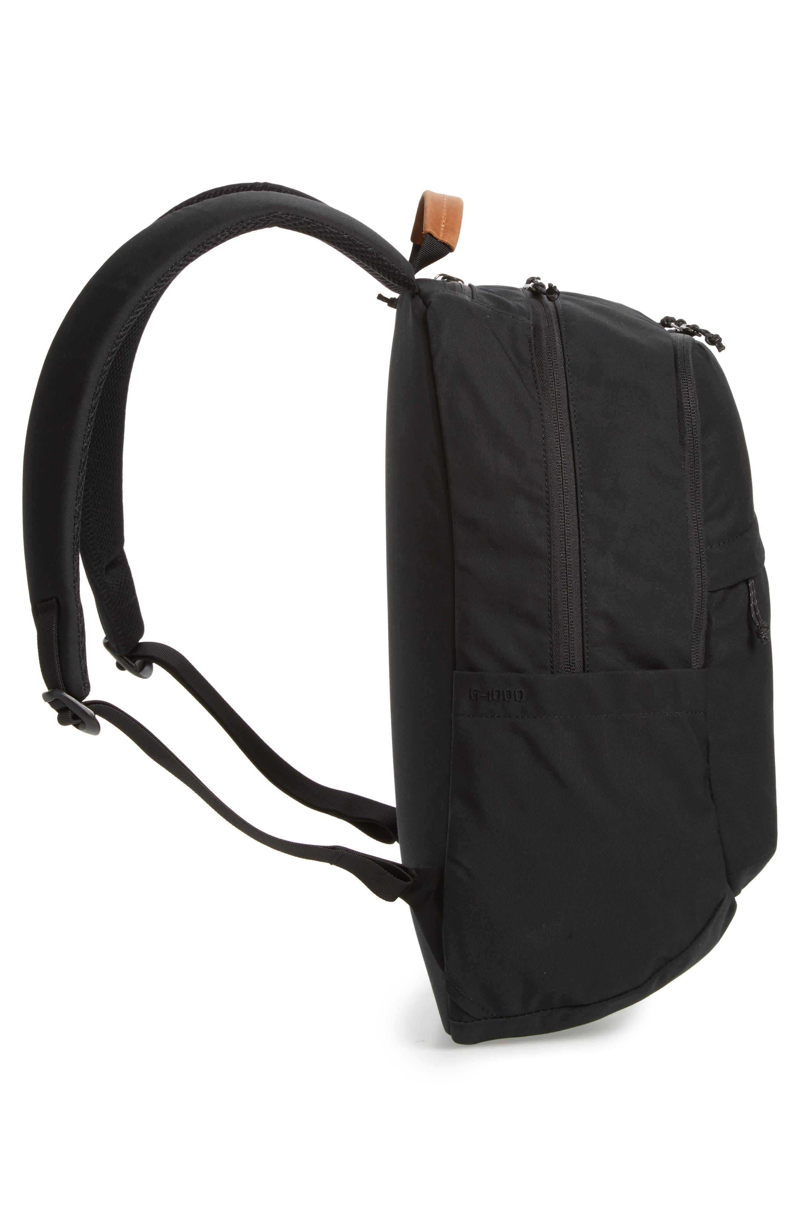 Räven 20L Backpack,                             Alternate thumbnail 5, color,                             BLACK