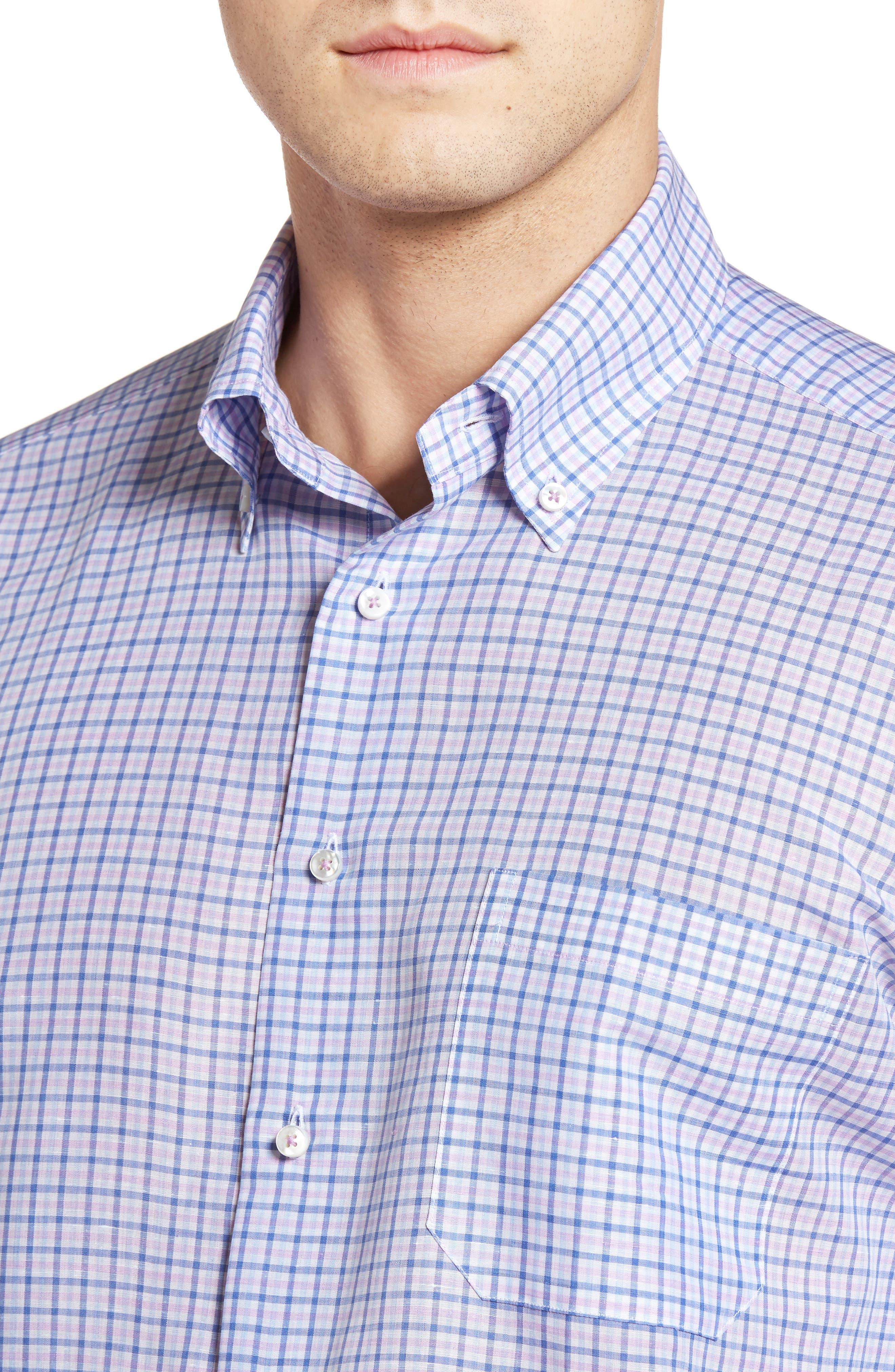 Estate Classic Fit Sport Shirt,                             Alternate thumbnail 4, color,                             540
