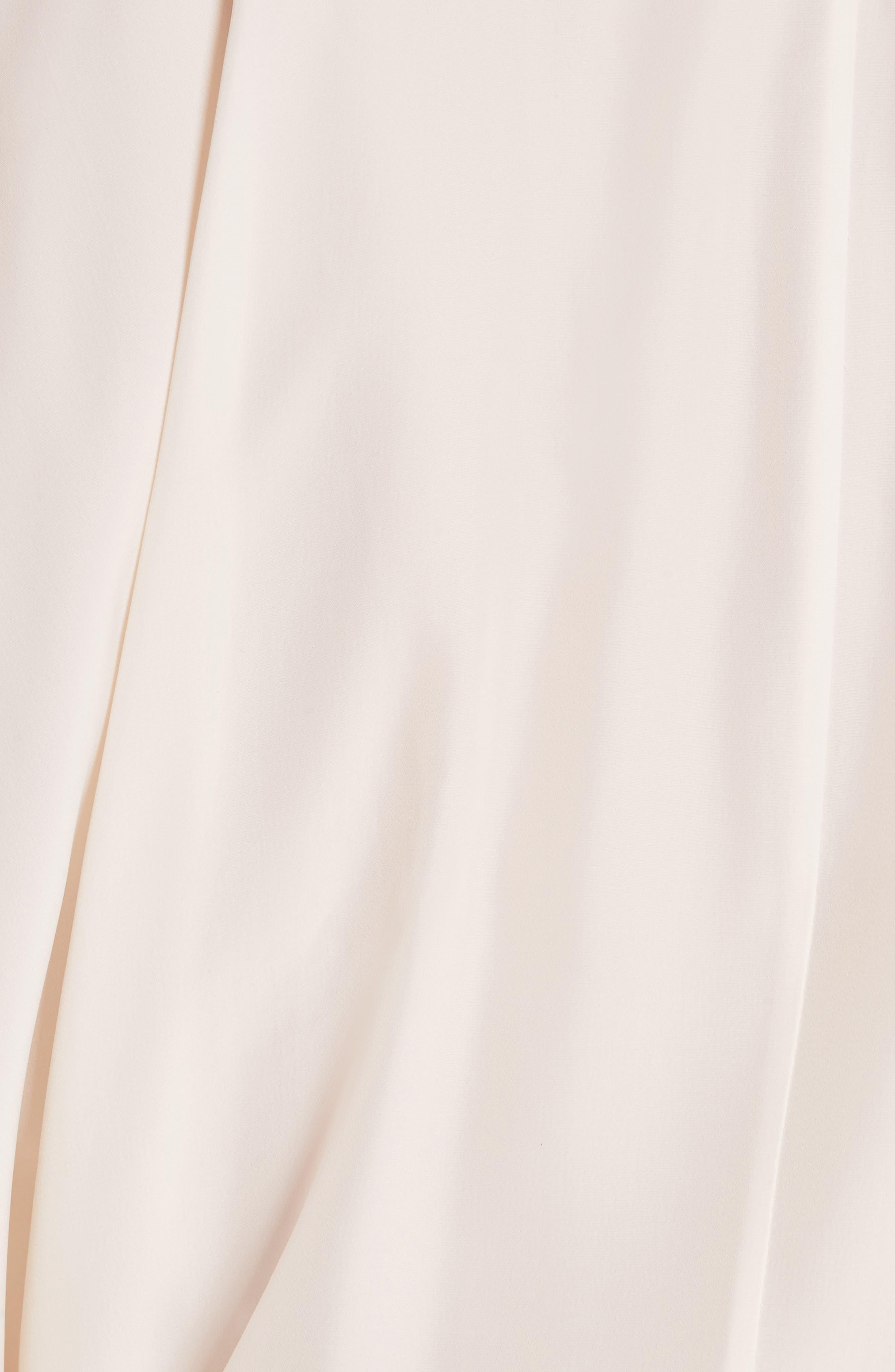 Asymmetrical Draped Dress,                             Alternate thumbnail 5, color,                             900