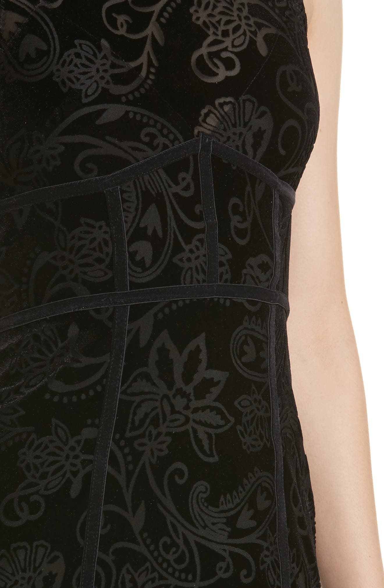 Burnout Babe Body-Con Dress,                             Alternate thumbnail 4, color,                             001