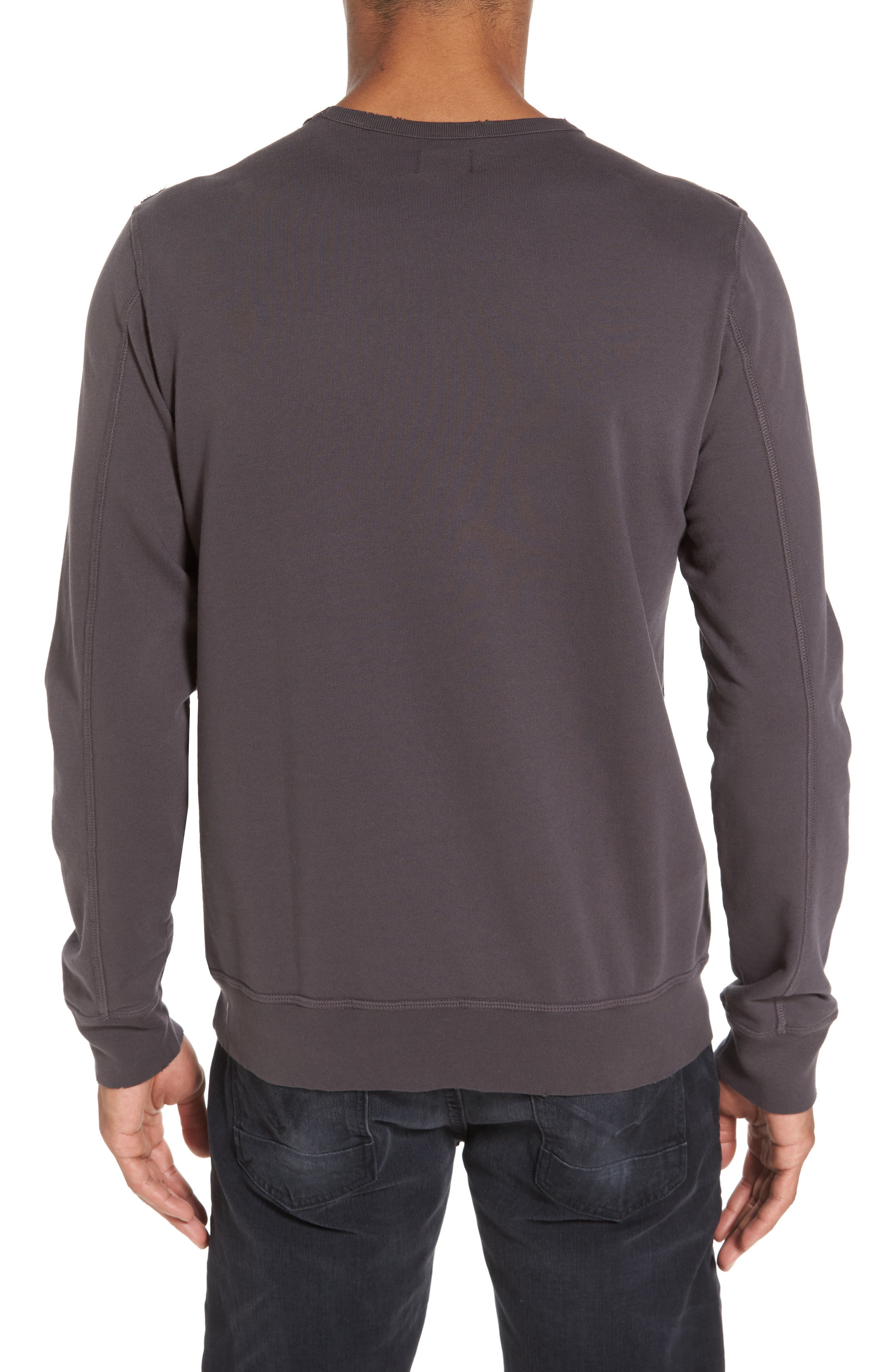 Tyson Slim Fit Sweatshirt,                             Alternate thumbnail 2, color,                             022