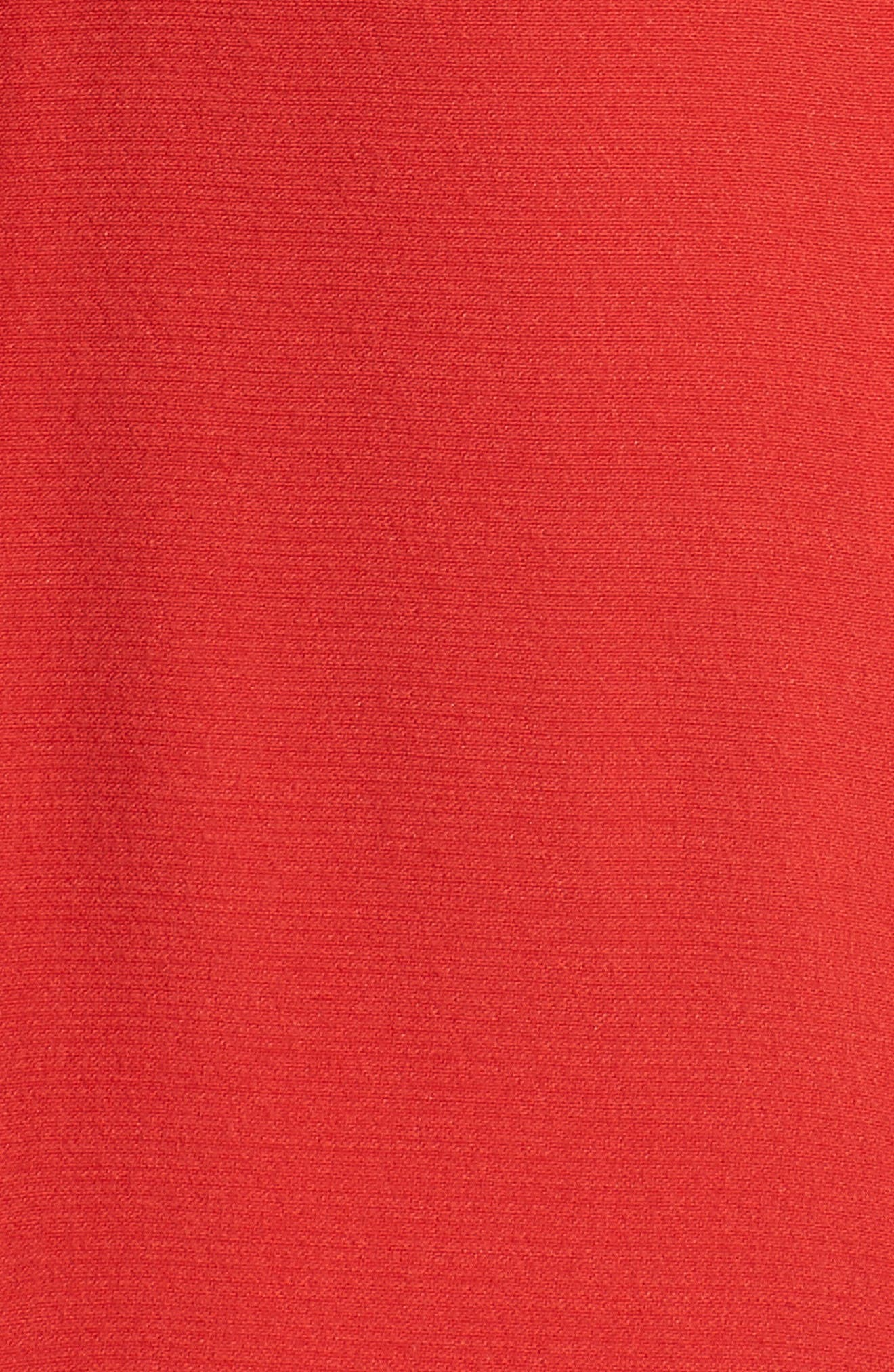 Pleated Godet Midi Dress,                             Alternate thumbnail 5, color,                             602