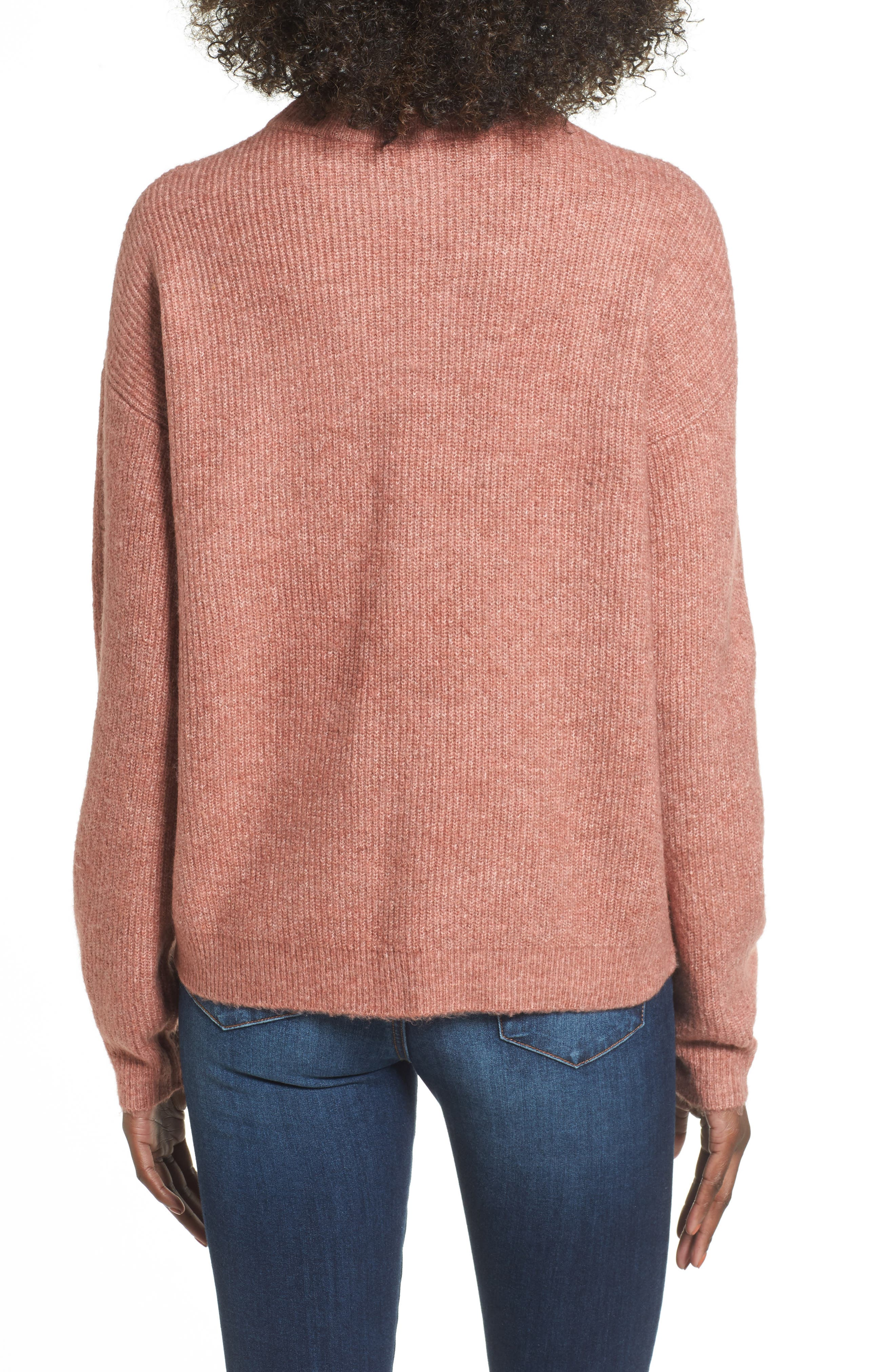 Cozy Ribbed Pullover,                             Alternate thumbnail 18, color,