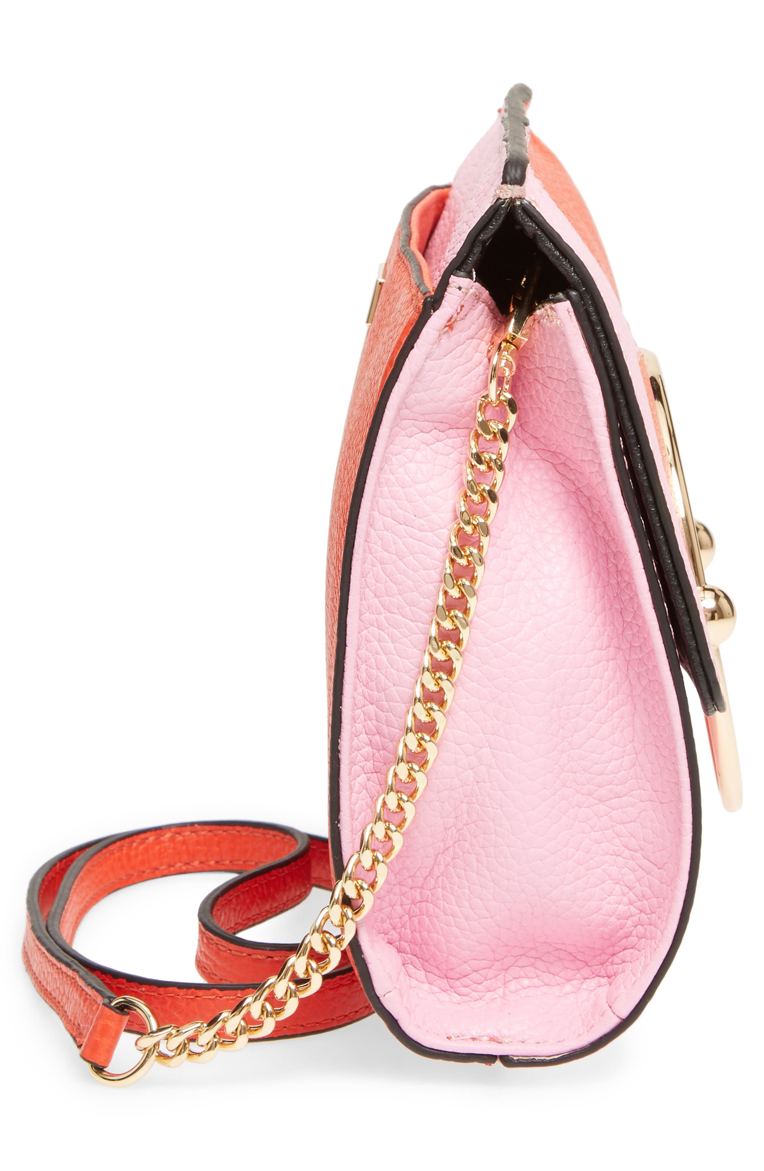 Astor Pebbled Leather Flap Clutch,                             Alternate thumbnail 20, color,