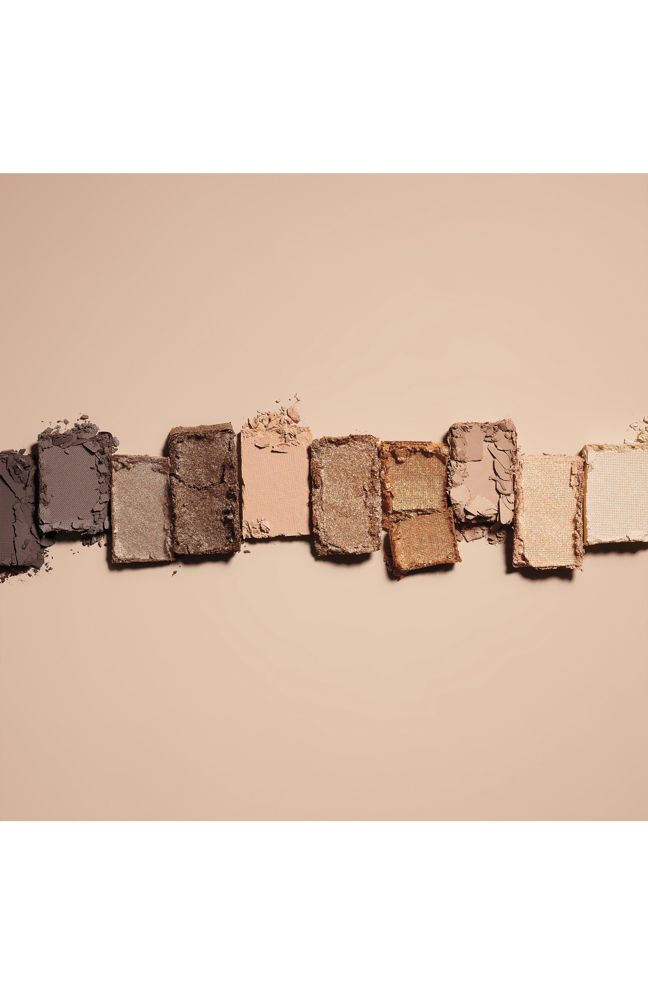 Nude on Nude Eyeshadow Palette,                             Alternate thumbnail 3, color,                             BRONZED NUDES