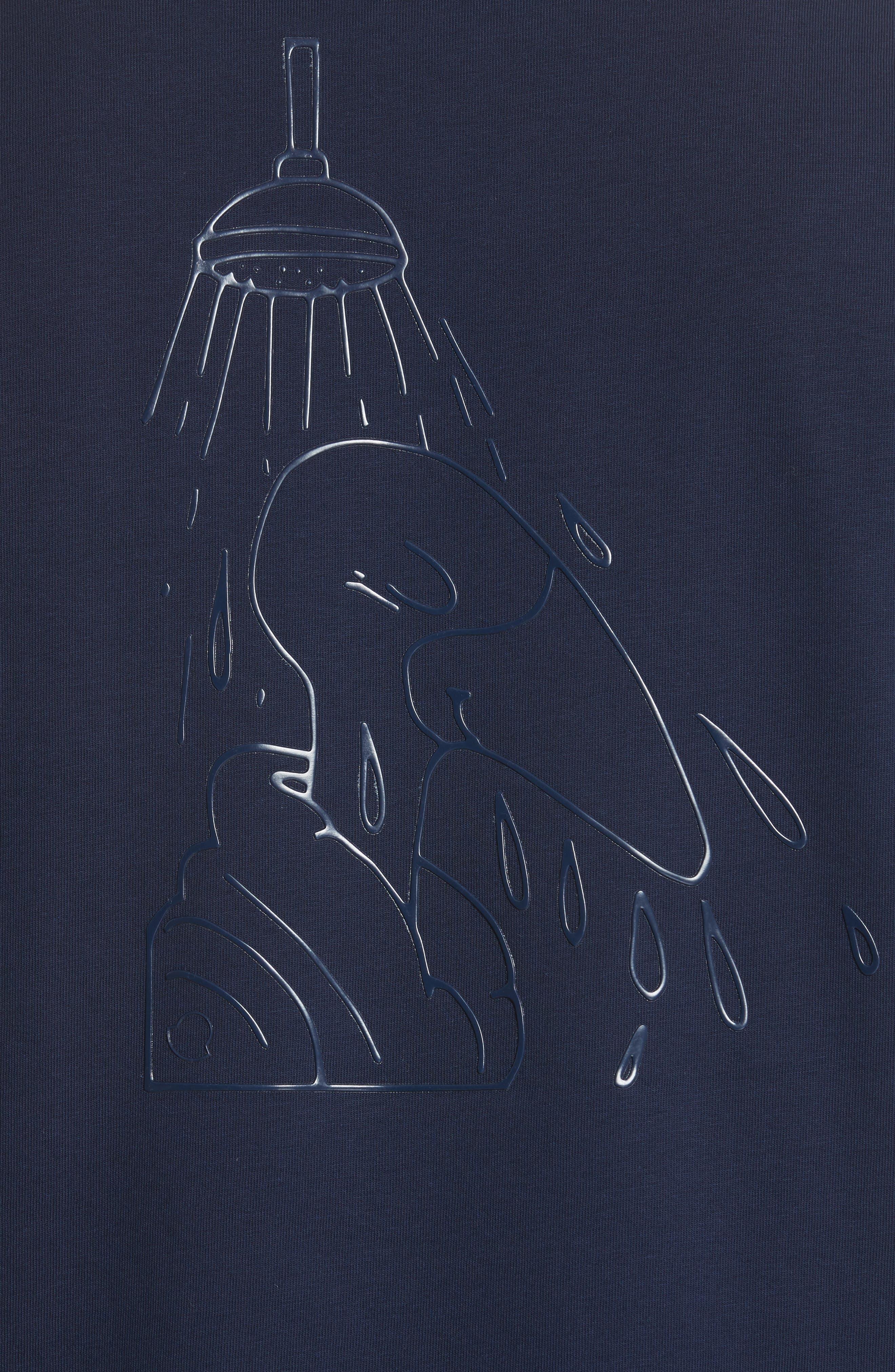 Maglia Print T-Shirt,                             Alternate thumbnail 5, color,                             419
