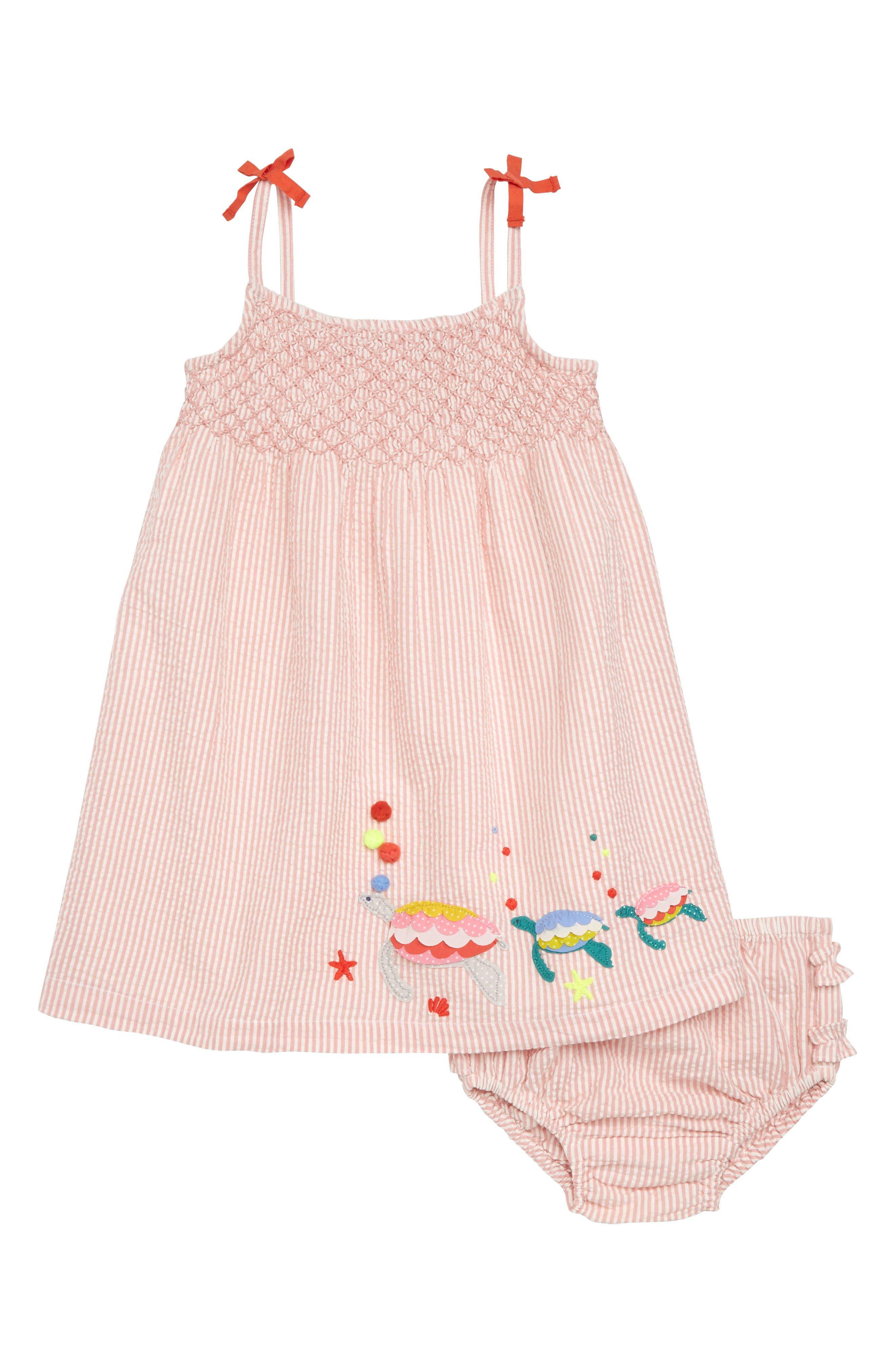 Strappy Smock Dress,                         Main,                         color, 684