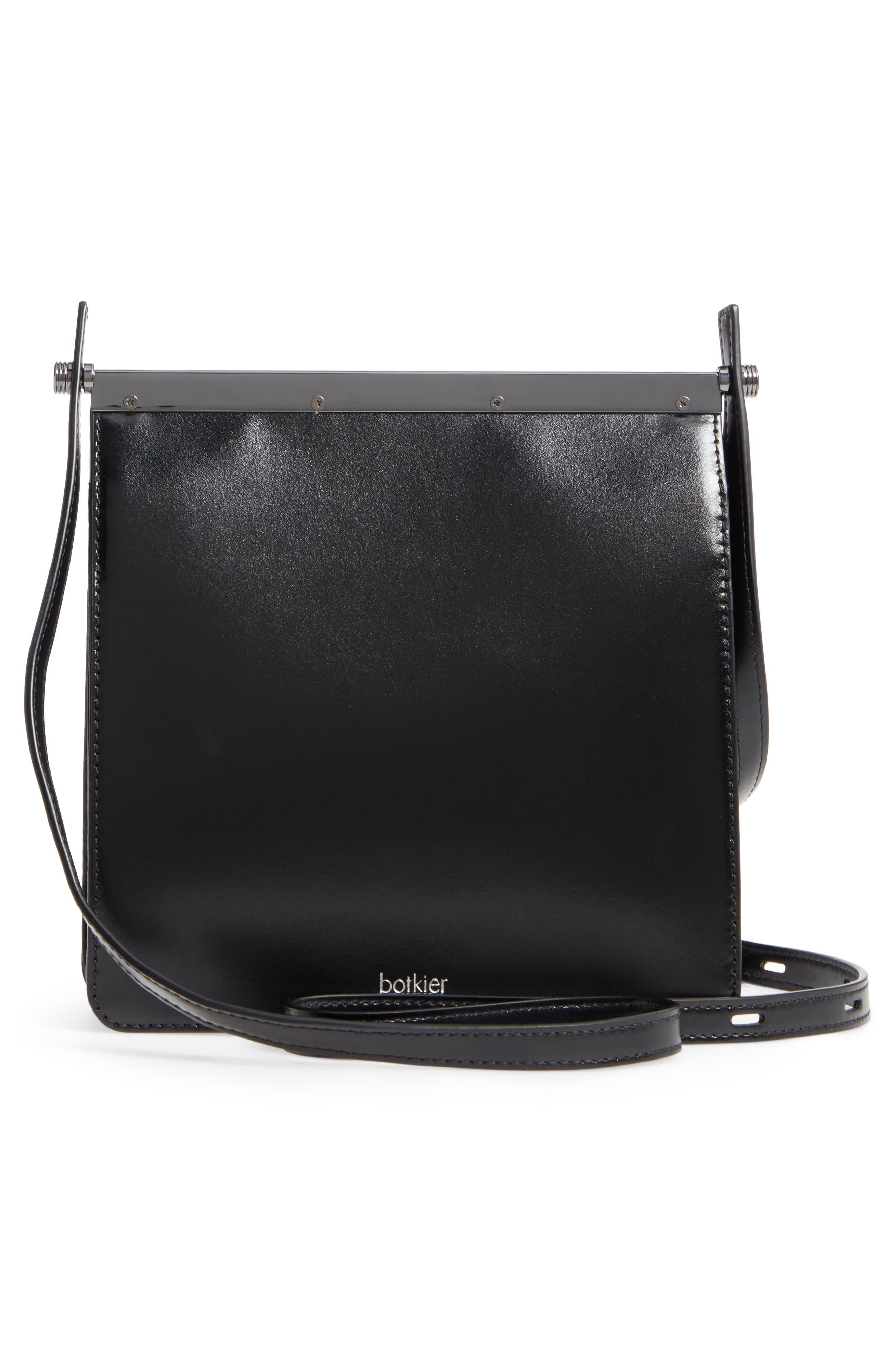 Crawford Calfskin Leather Crossbody Bag,                             Alternate thumbnail 7, color,