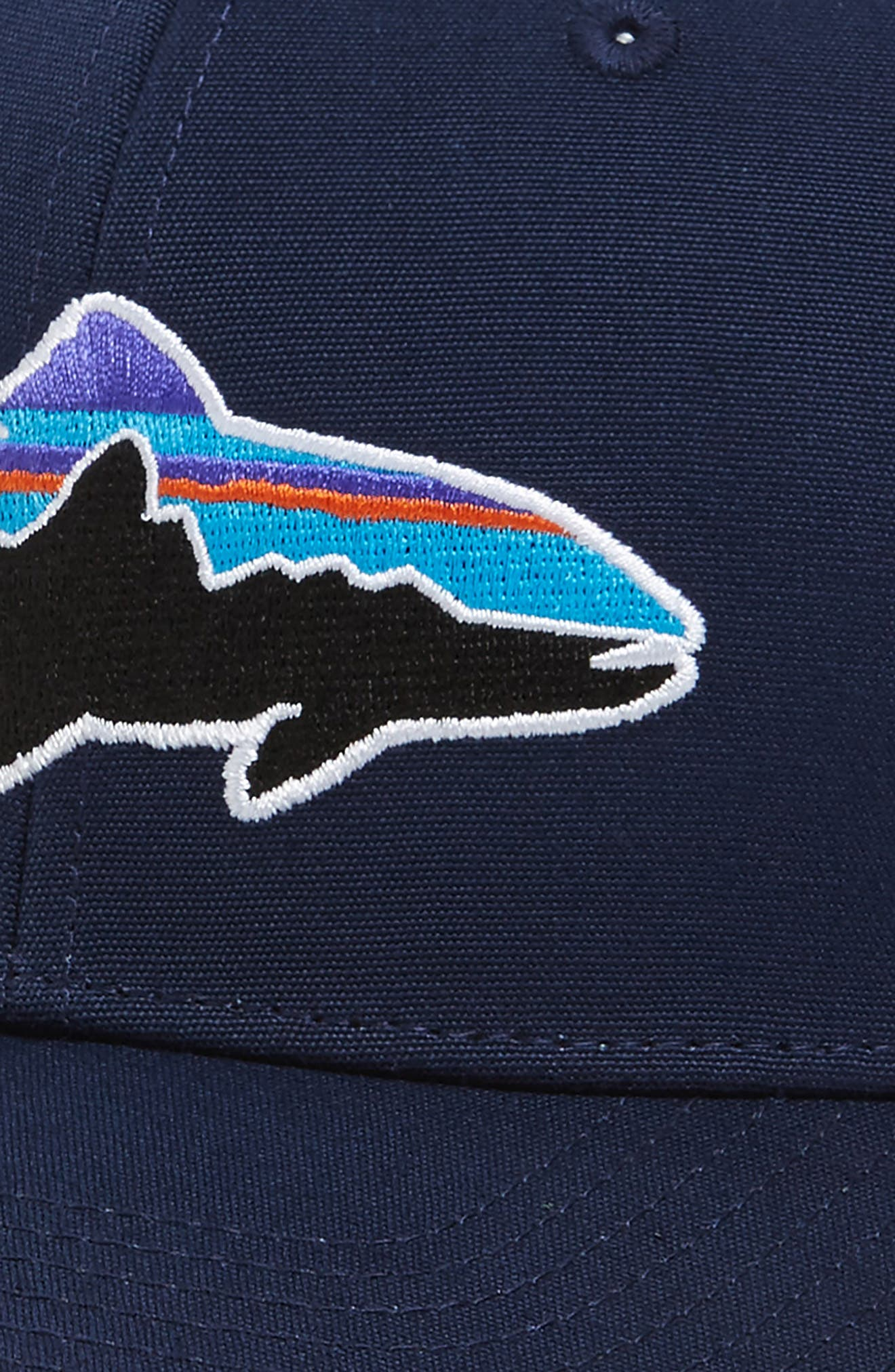 'Fitz Roy - Trout' Trucker Hat,                             Alternate thumbnail 3, color,                             CLASSIC NAVY/ DRIFTER GREY