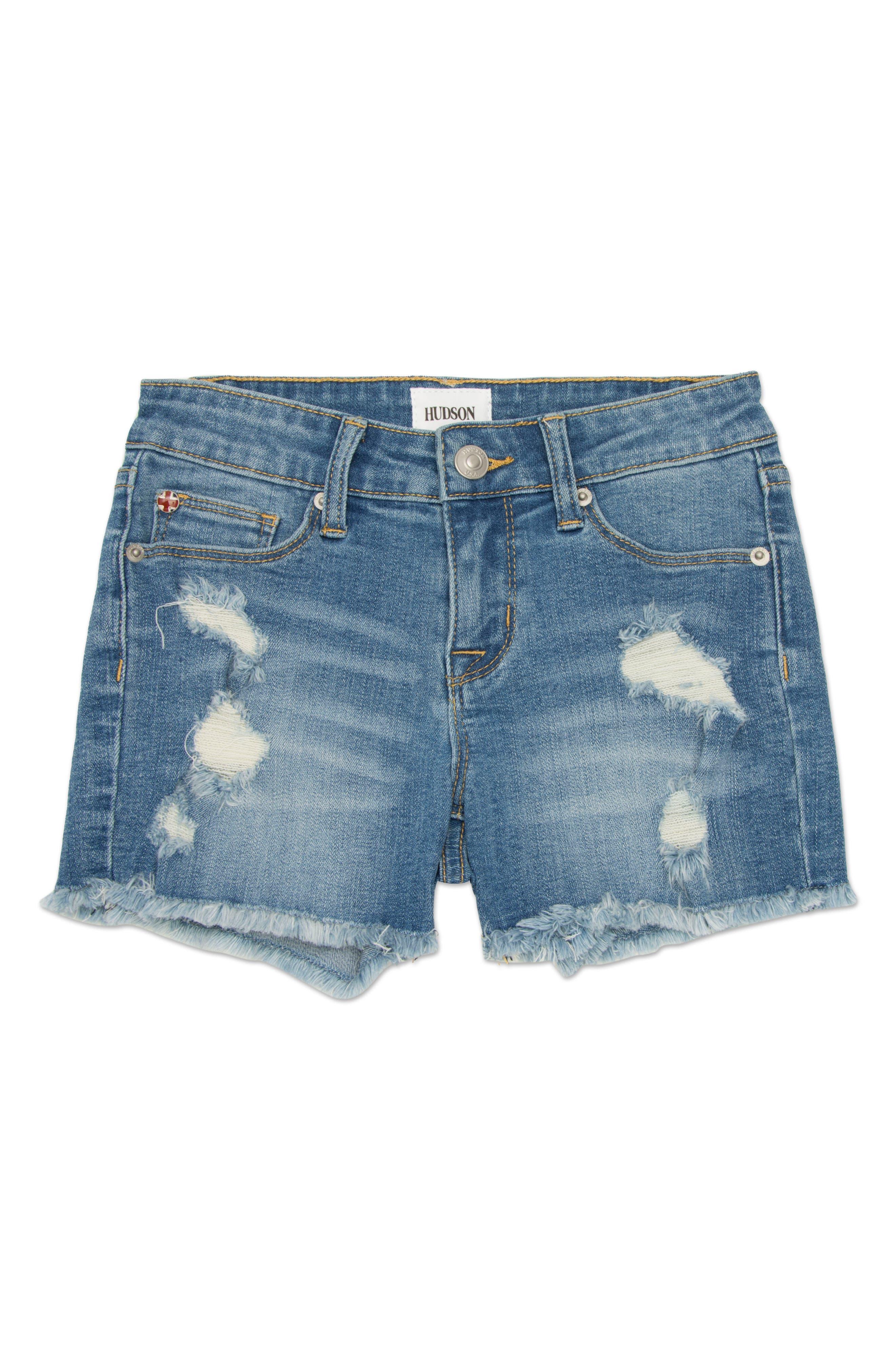 Frayed Shorts,                             Main thumbnail 1, color,                             498