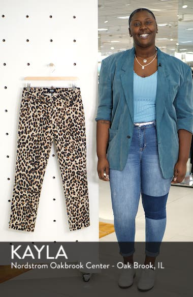Hoxton High Waist Ankle Straight Leg Jeans, sales video thumbnail