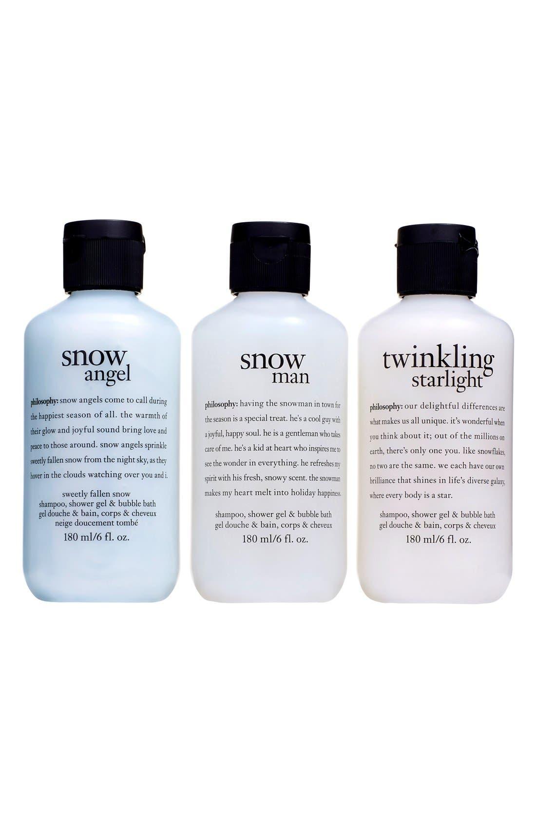 'twinkling snowflakes' set,                             Alternate thumbnail 2, color,                             000