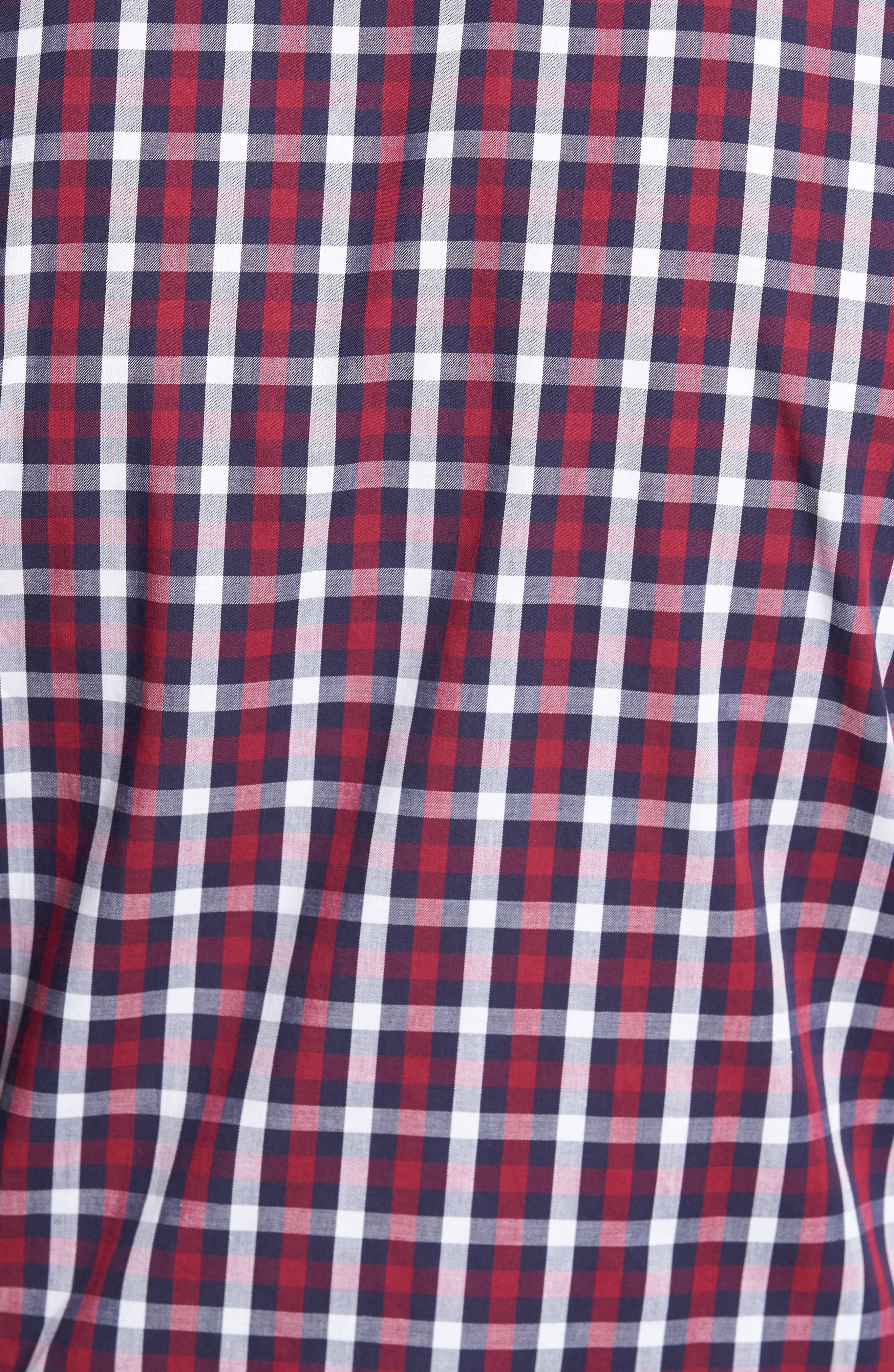Covington Check Sport Shirt,                             Alternate thumbnail 5, color,                             617