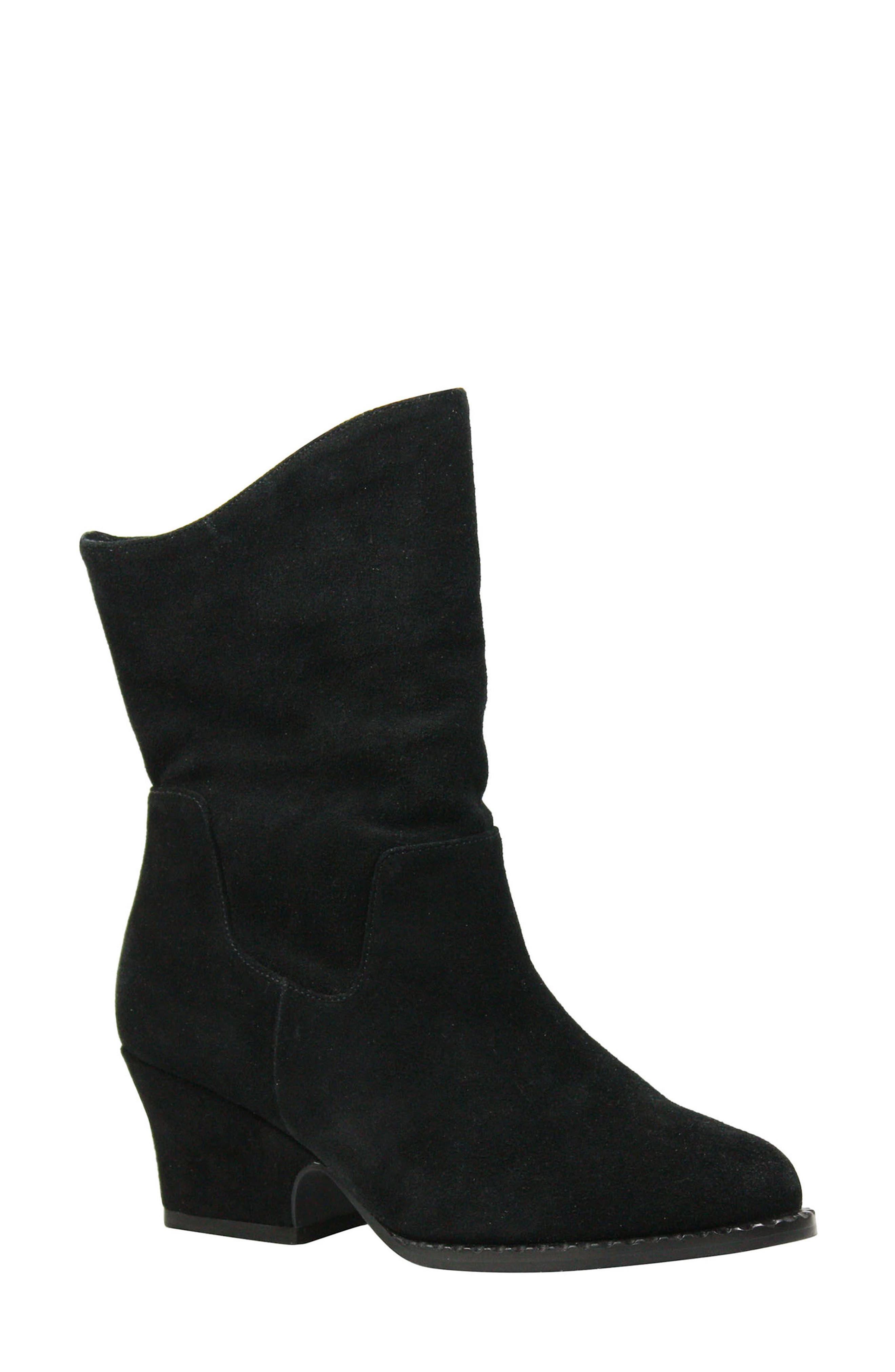 Jarrah Boot,                             Main thumbnail 1, color,                             BLACK SUEDE