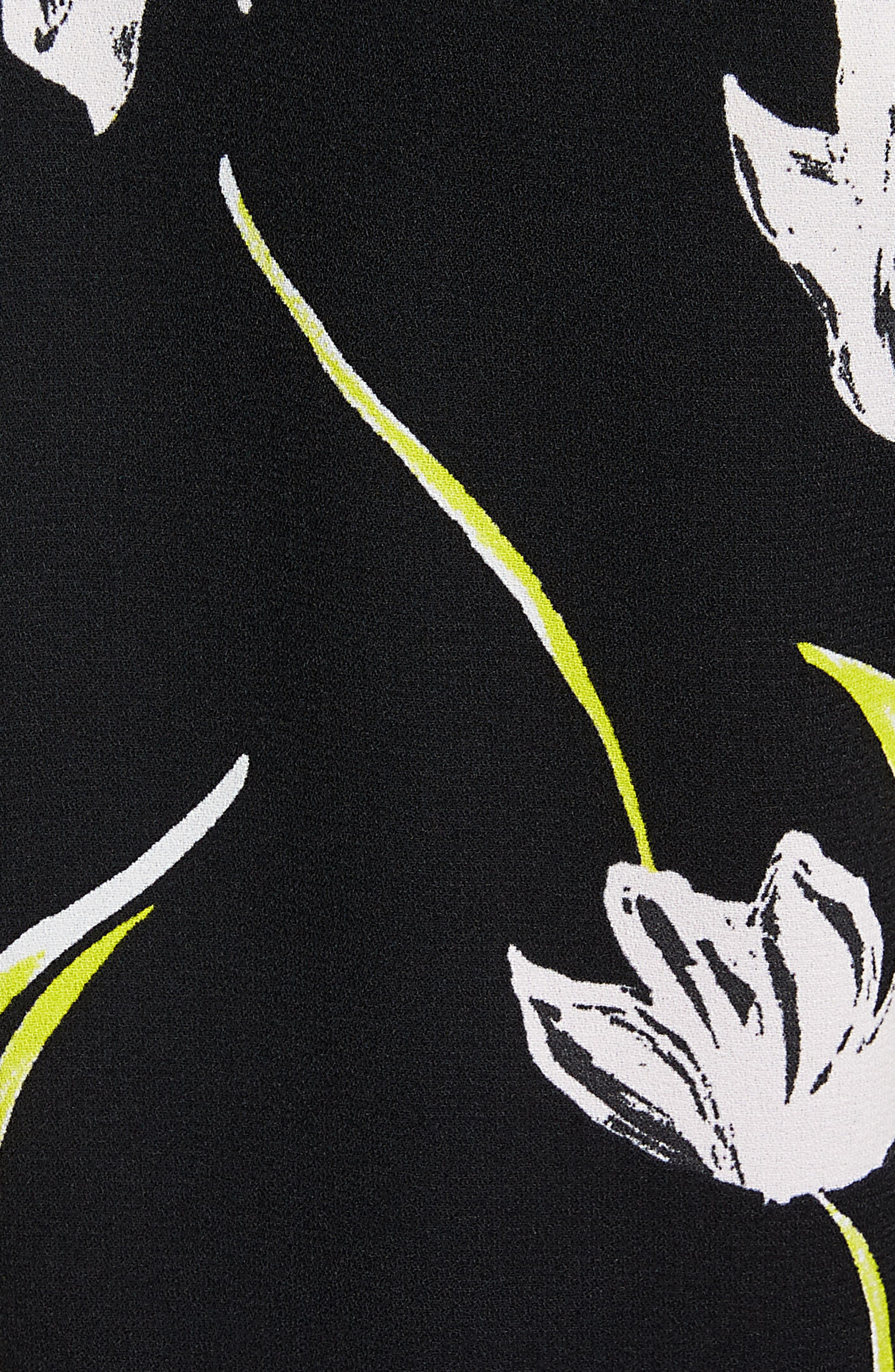 Bow Back Print Flare Sleeve Tunic,                             Alternate thumbnail 31, color,