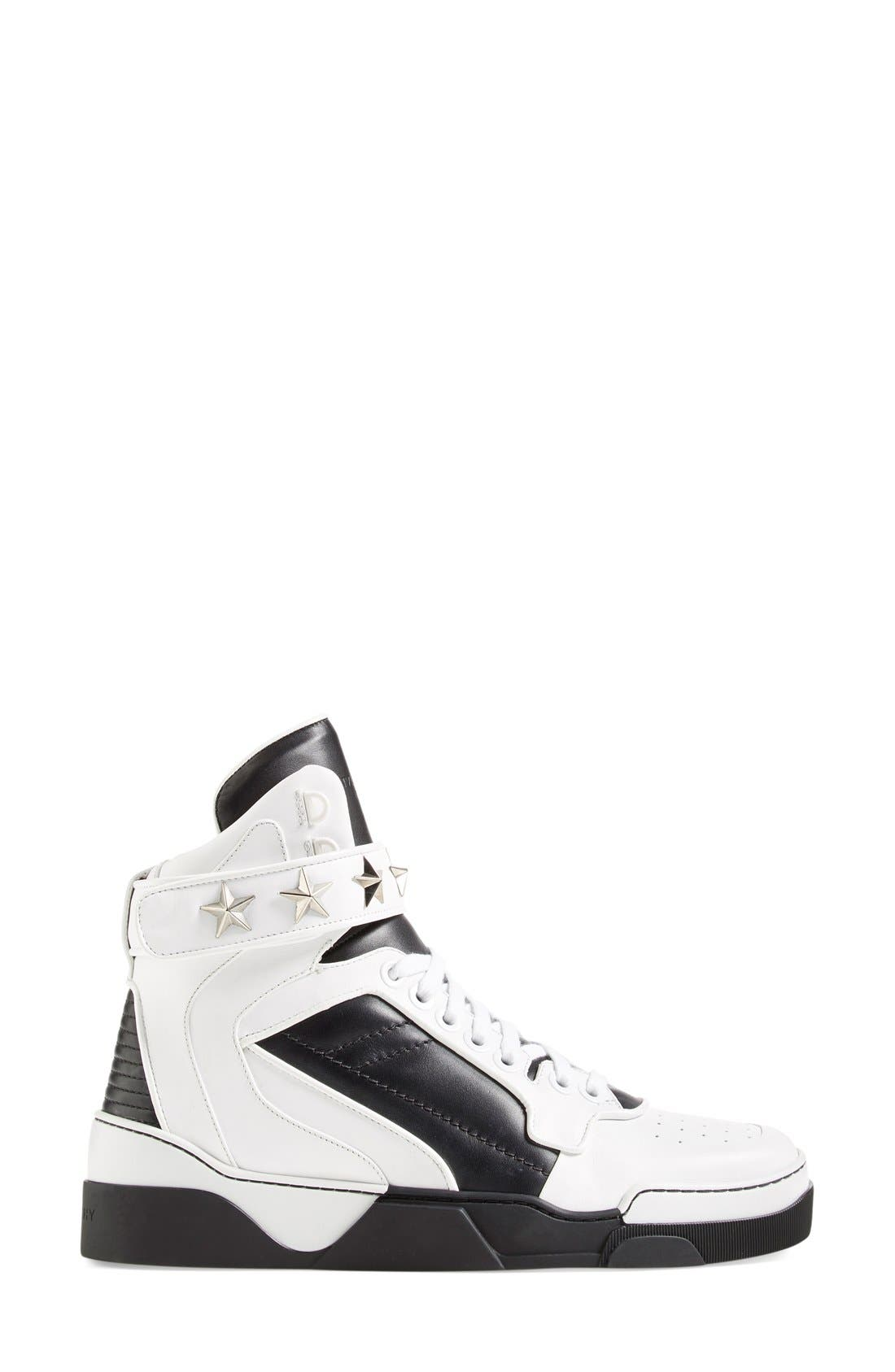 'Tyson' High Top Sneaker,                             Alternate thumbnail 5, color,